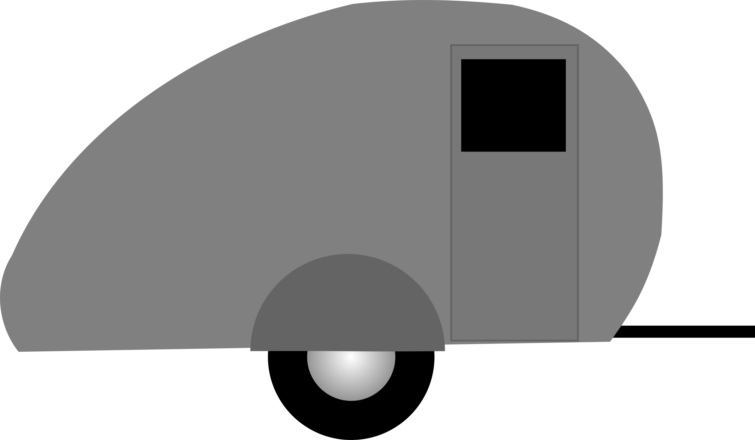 Teardrop trailer by liftarn
