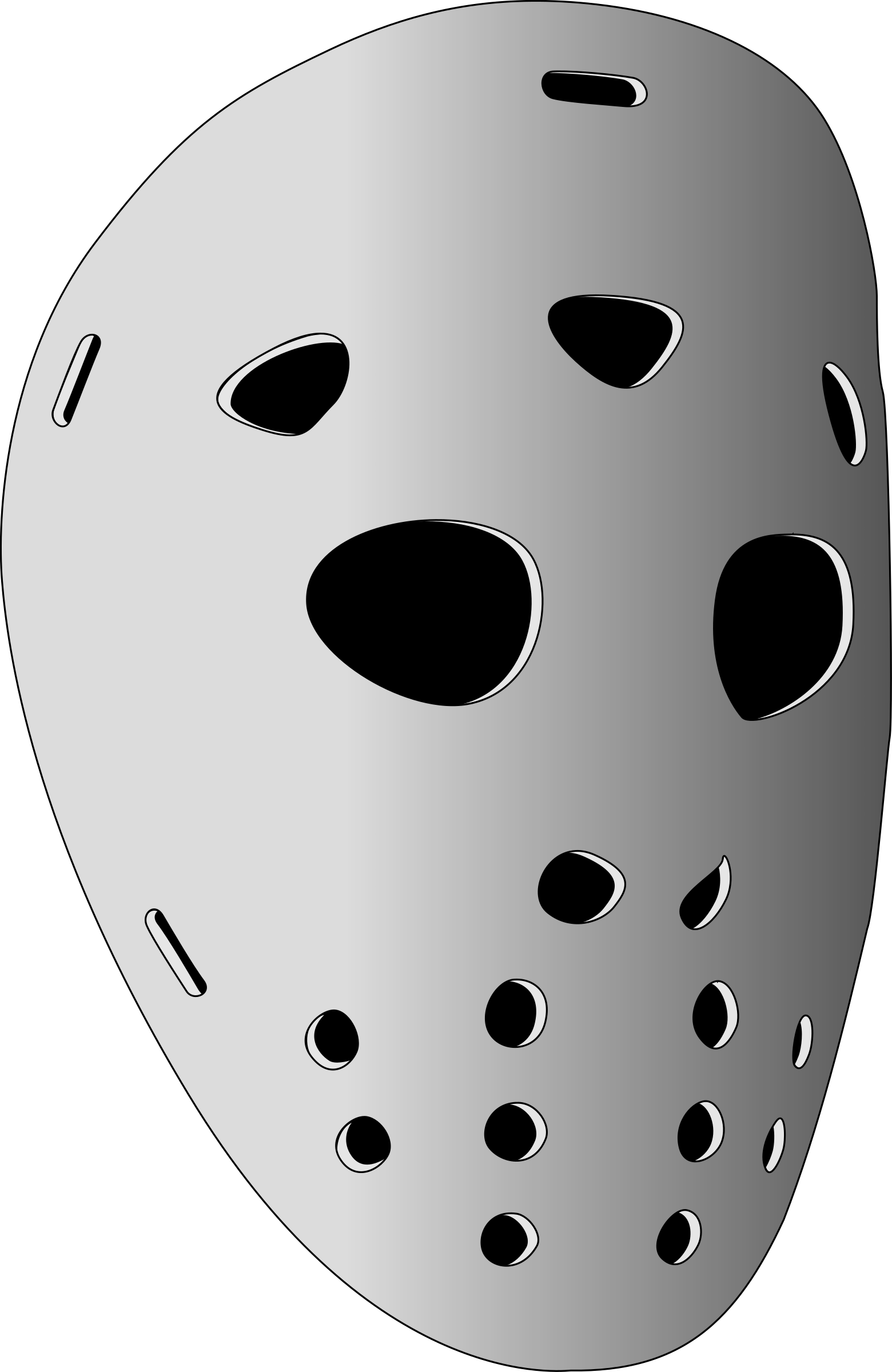 hockey mask by drunken_duck