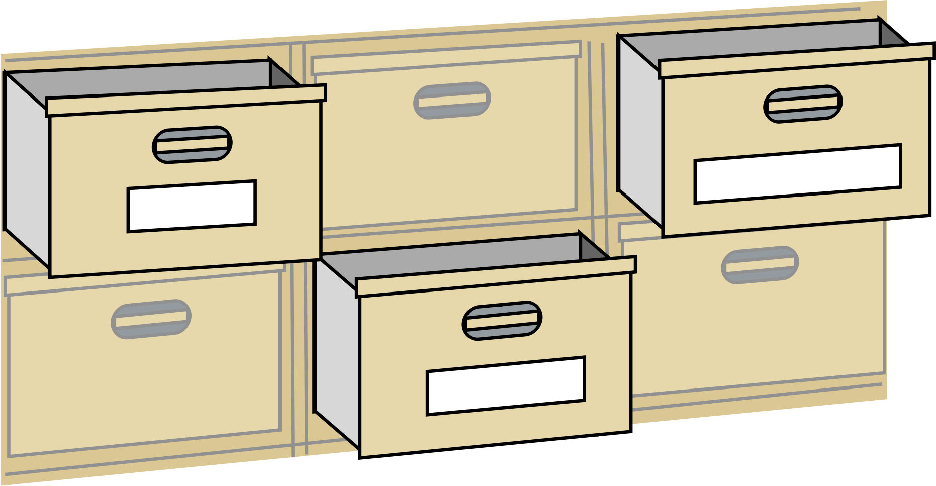 file cabnet drawers by johnny_automatic