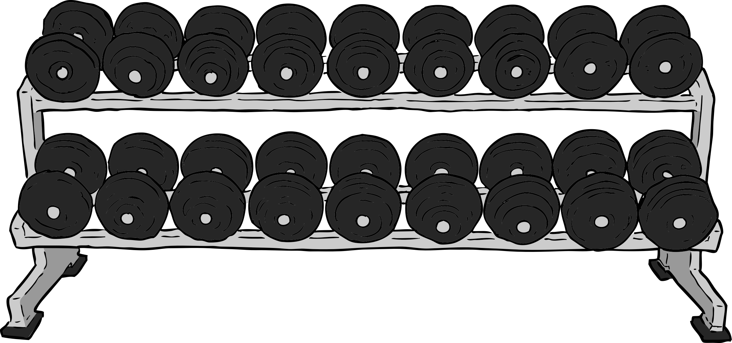 Dumbell Rack by SteveLambert