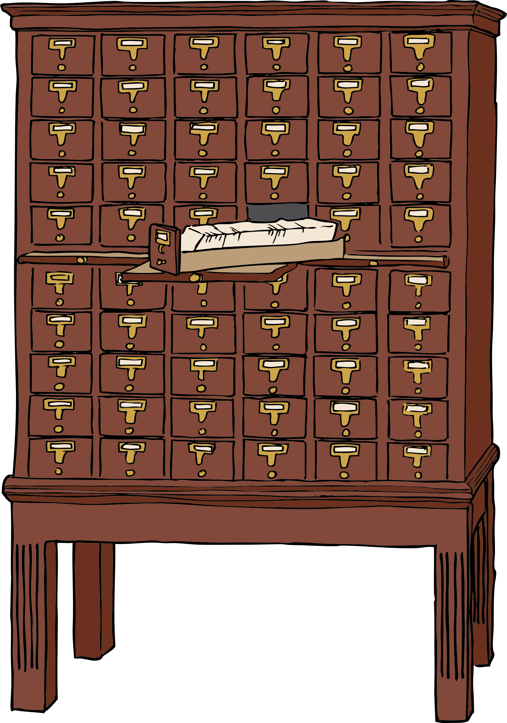 Card Catalog by SteveLambert