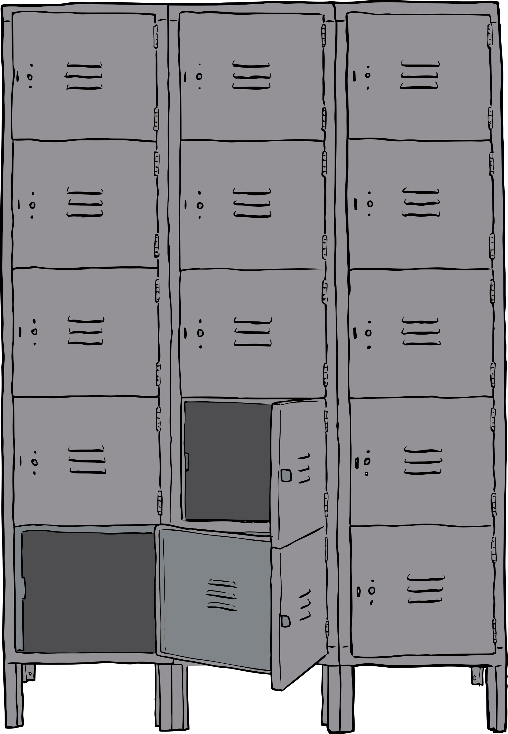 lockers by SteveLambert