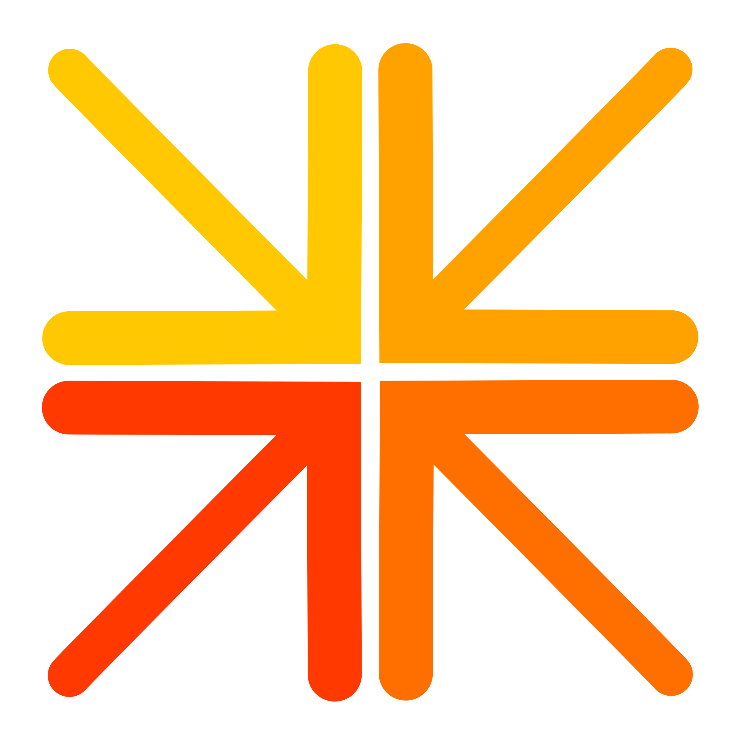 Clipart - Free Culture Logo Entry Orange