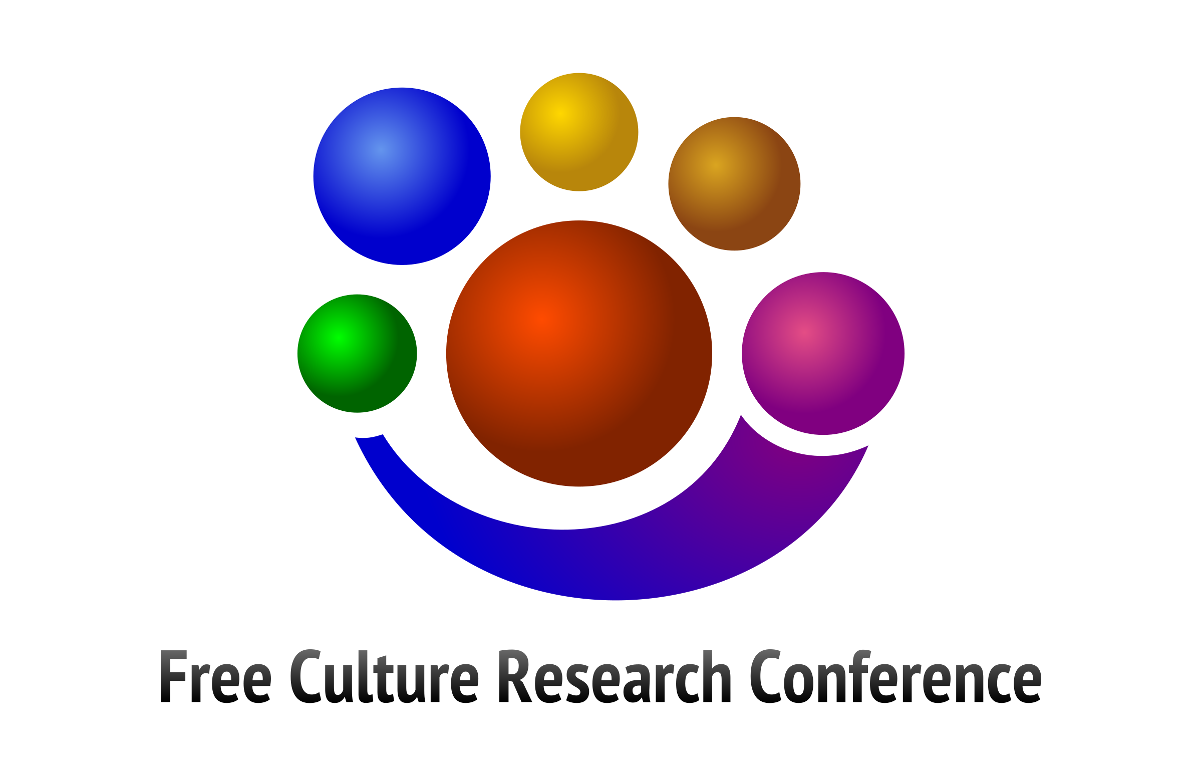 Free Culture Research Conference Logo by jumpordie