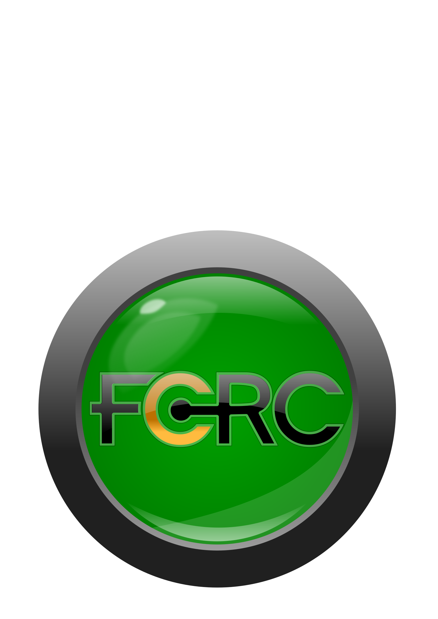 FCRC button/logo with text by timeth