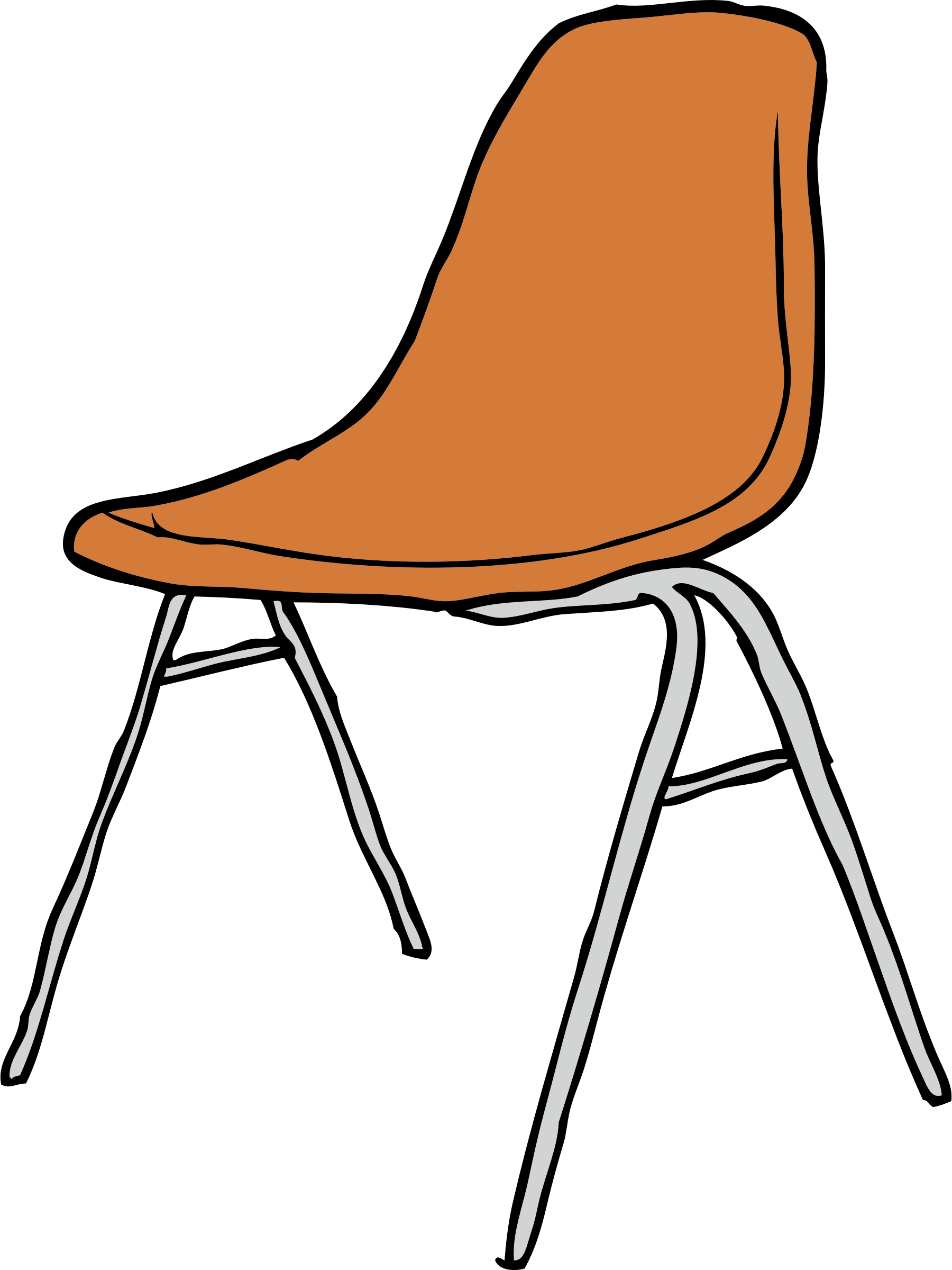 Modern Chair 3/4 Angle by SteveLambert