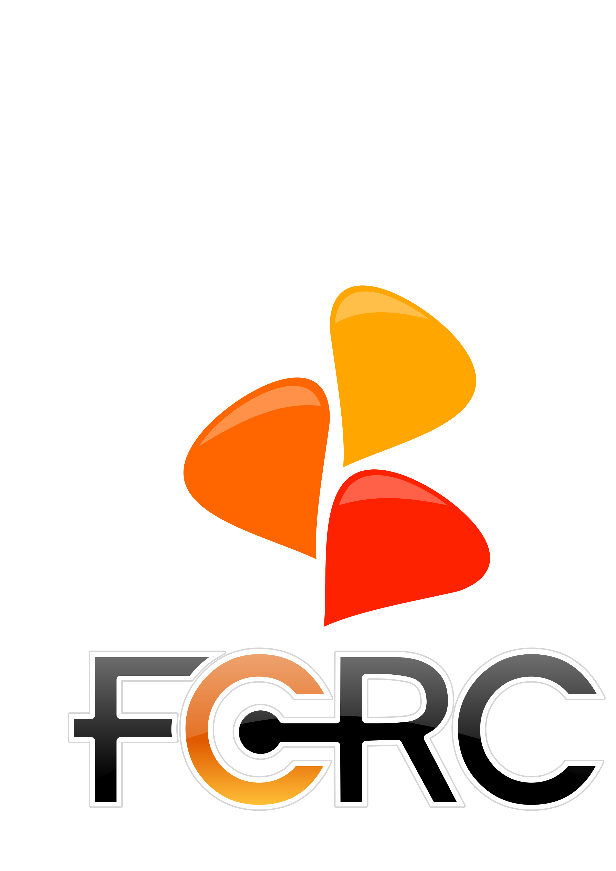 FCRC speech bubble logo and text by timeth