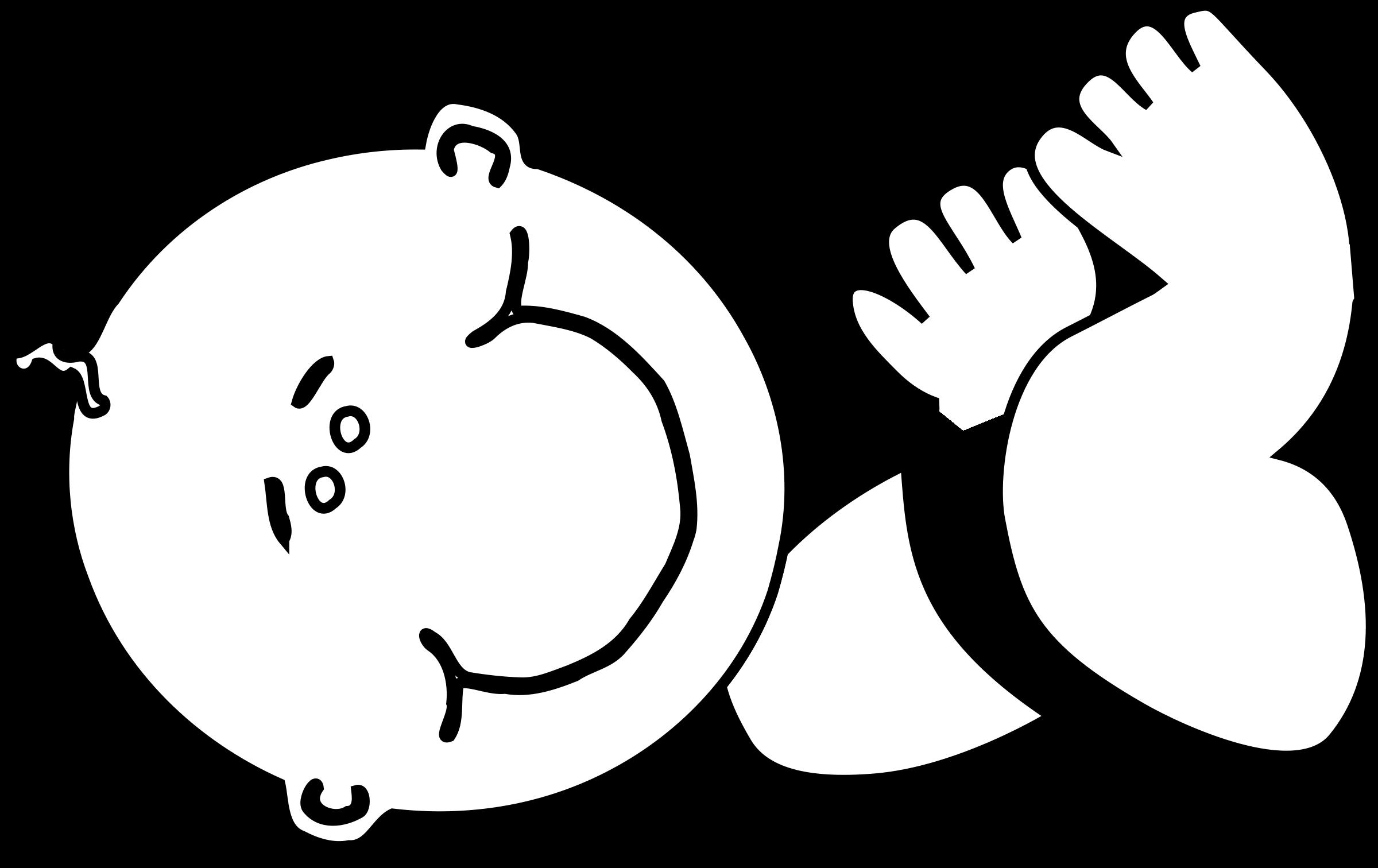 Line Art Baby : Big image png