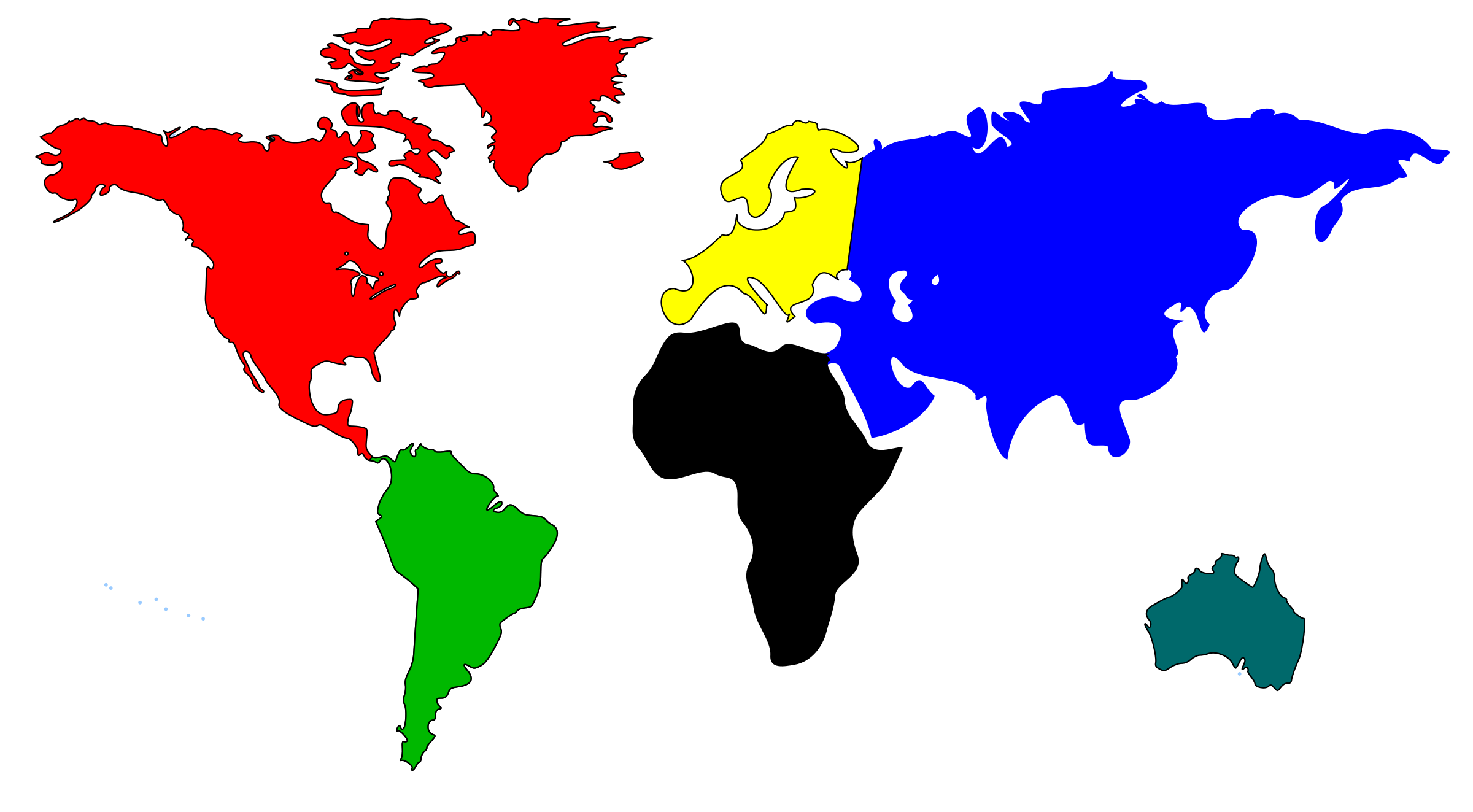 World Map by bessan