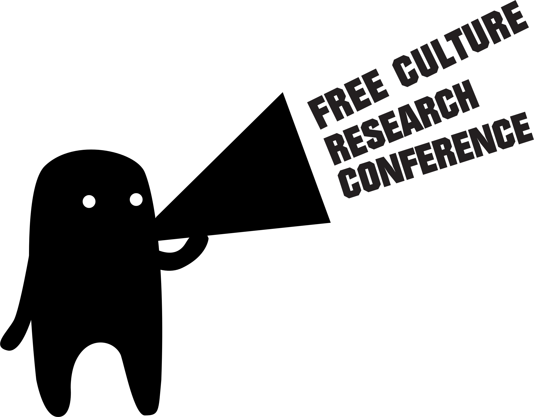 Free Culture Research Conference Logo 3 by hank0071