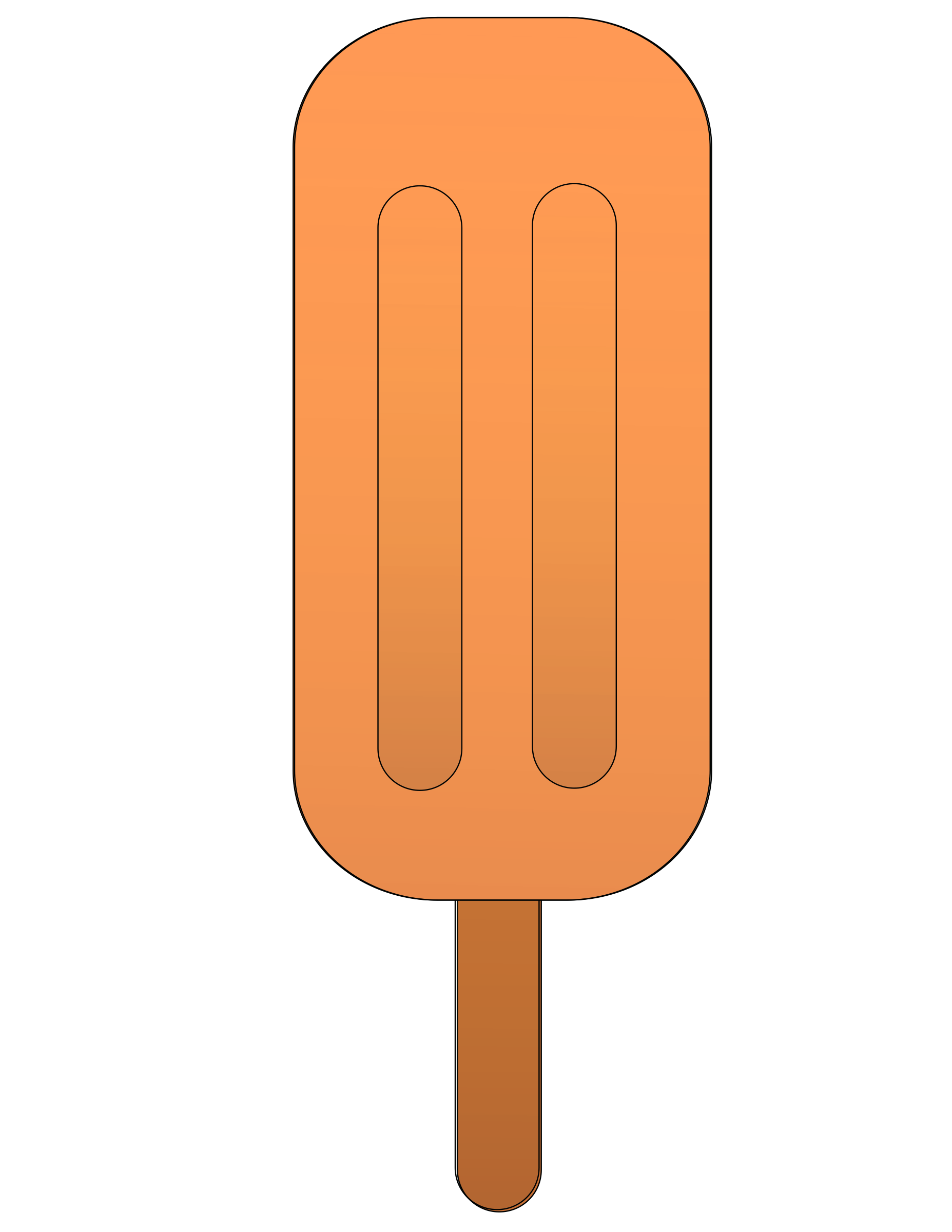 Orange popsicle. by Ehecatl1138