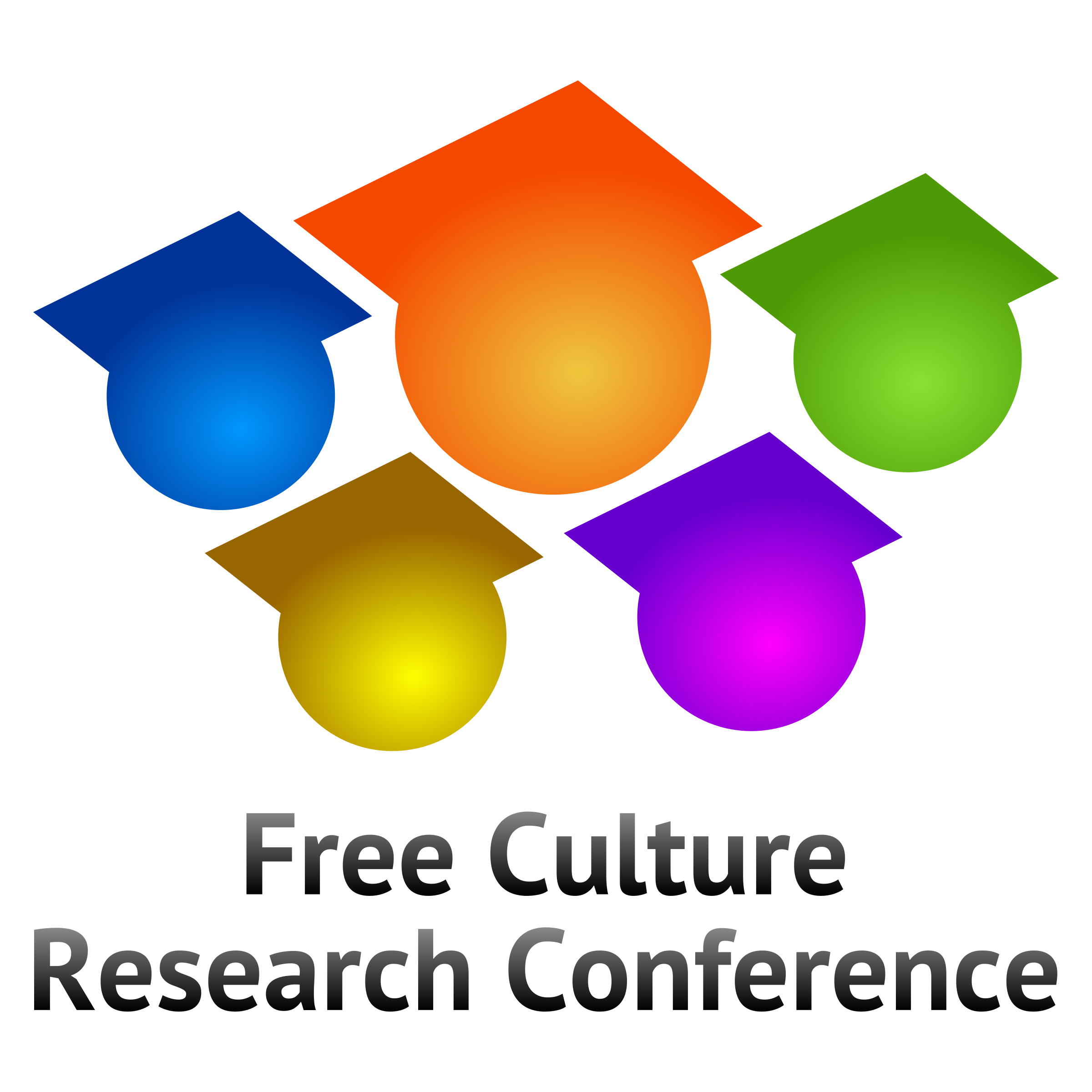 Free Culture Research Conference logo V3 by jumpordie
