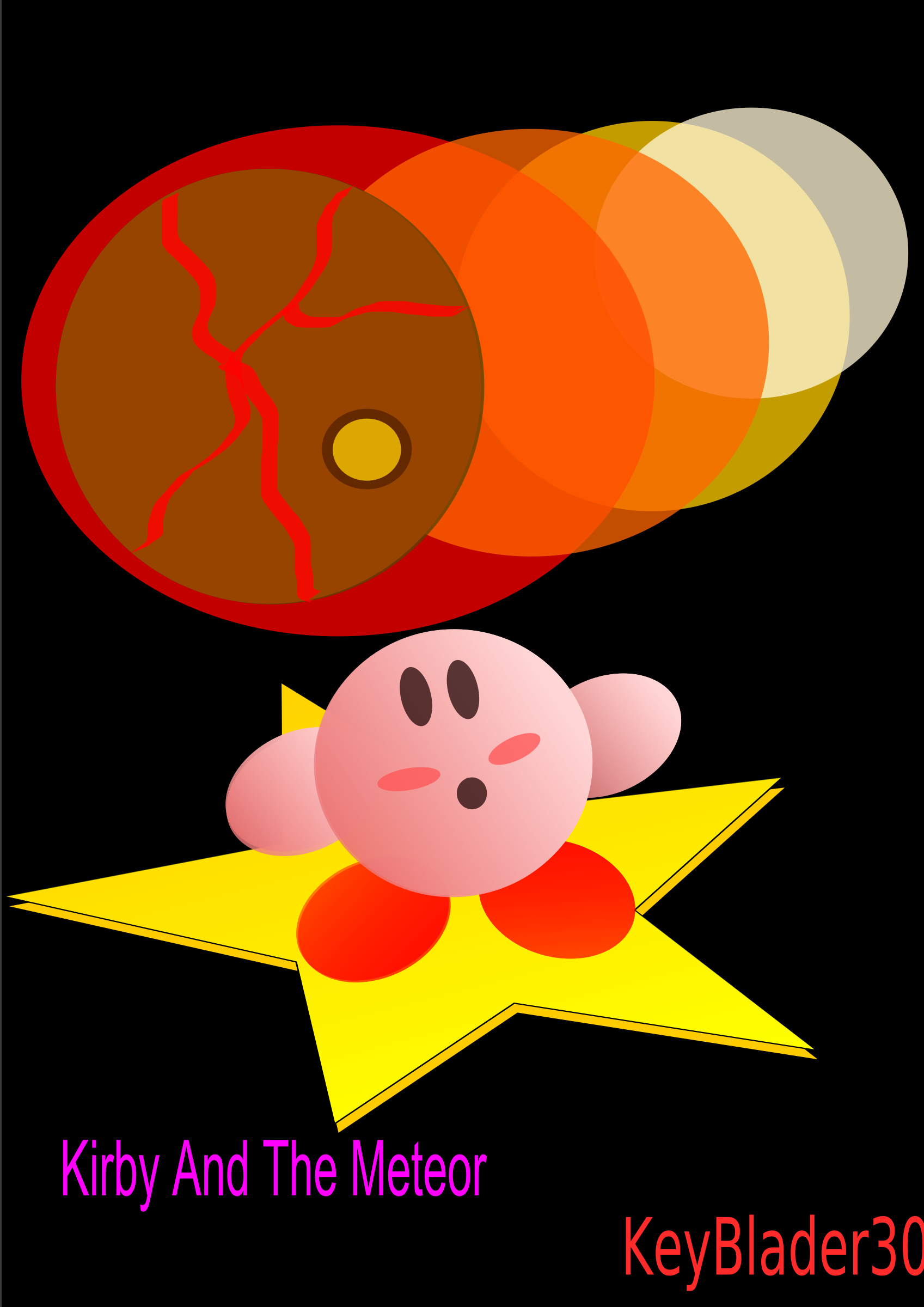 Kirby Meteor by KeyBlader30