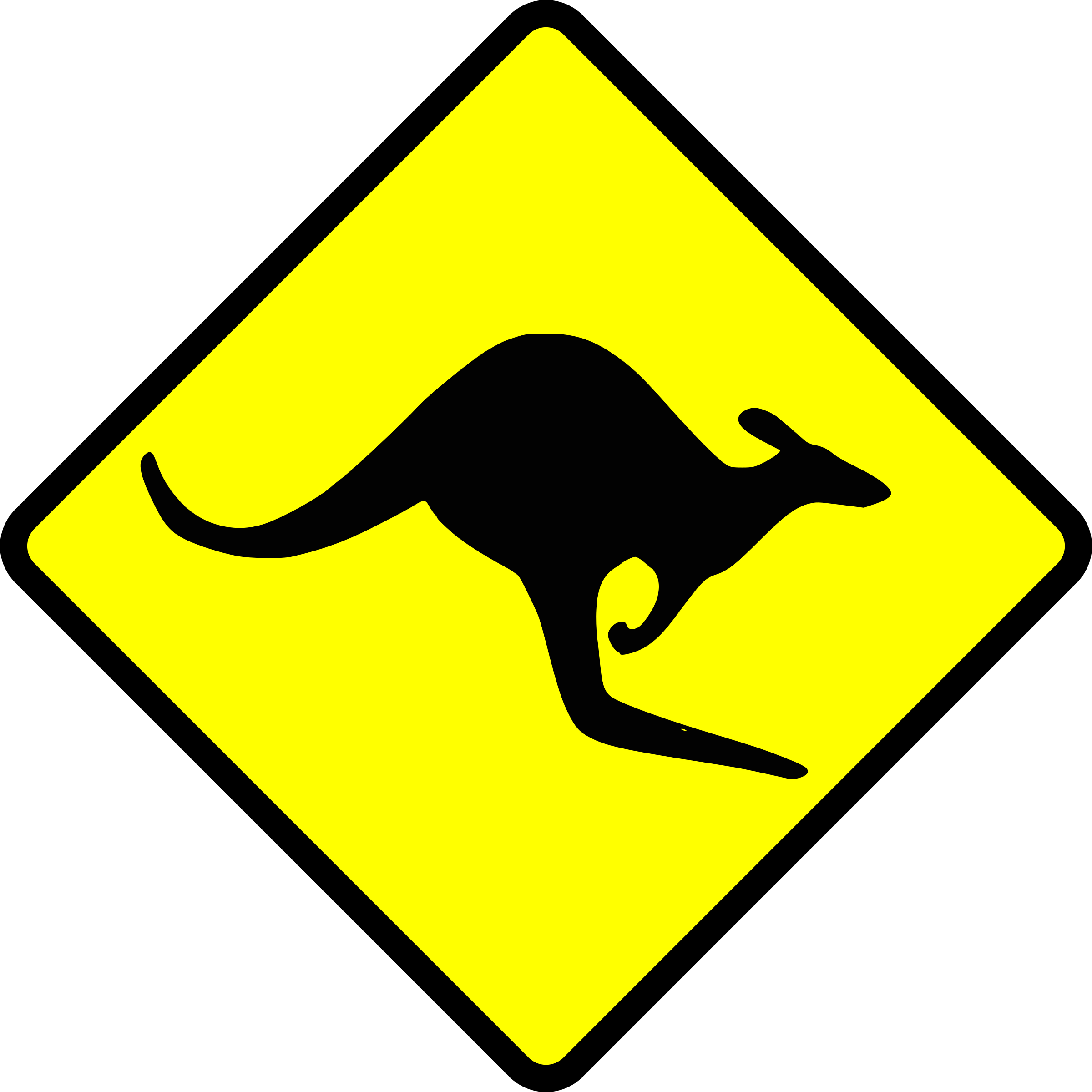 caution-kangaroo by Leomarc