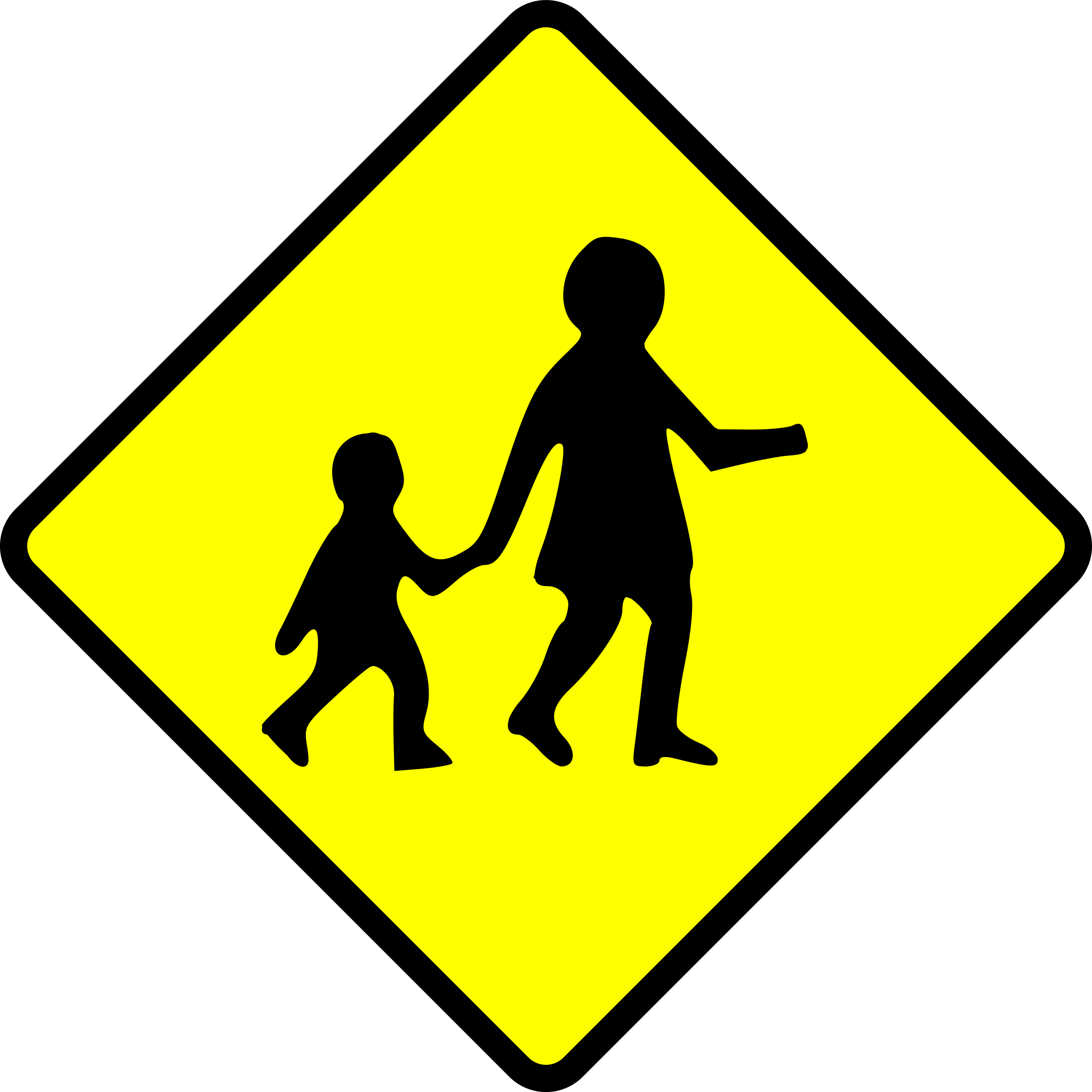 caution_children crossing by Leomarc
