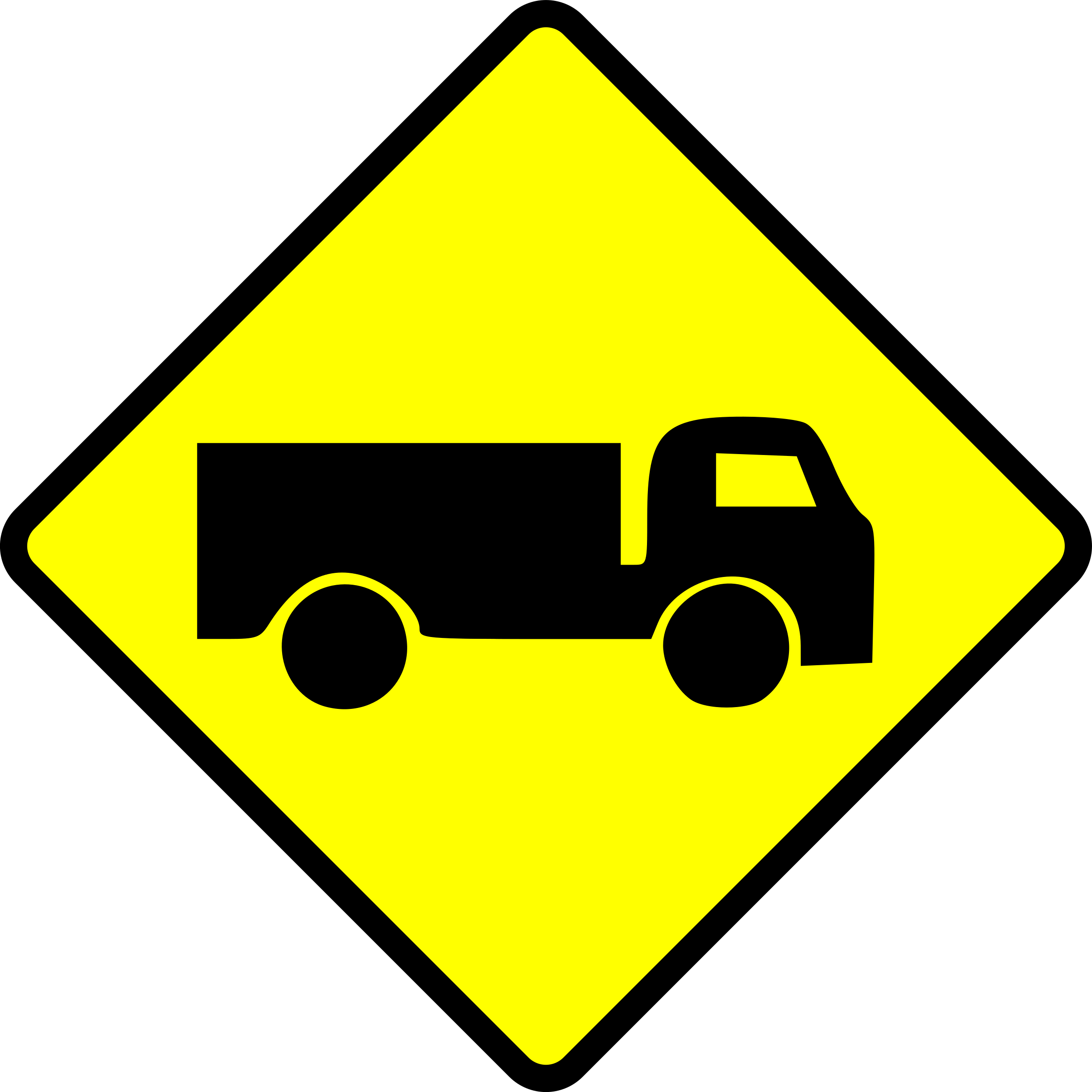 caution-truck by Leomarc