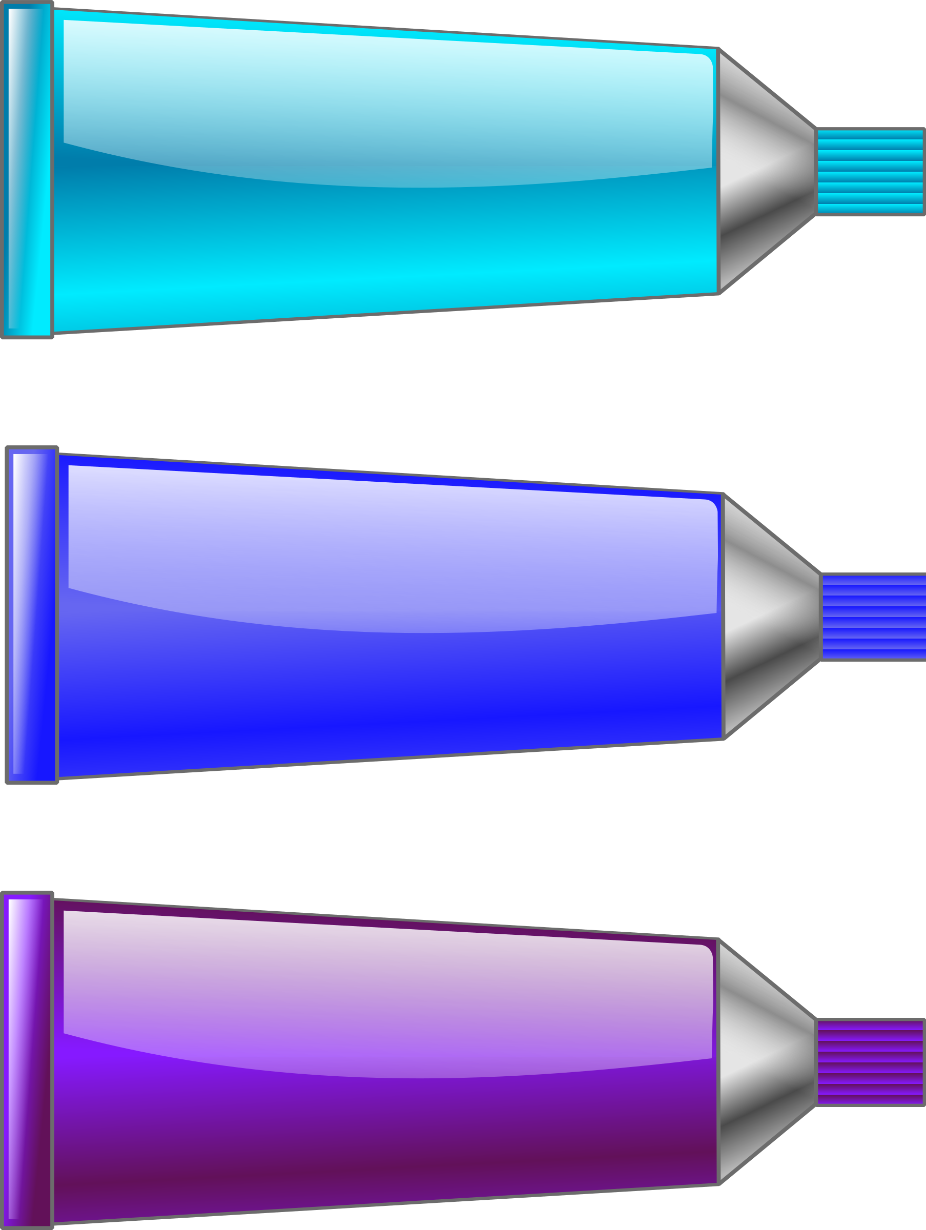 Color tube Blue Purple Cyan by TrnsltLife