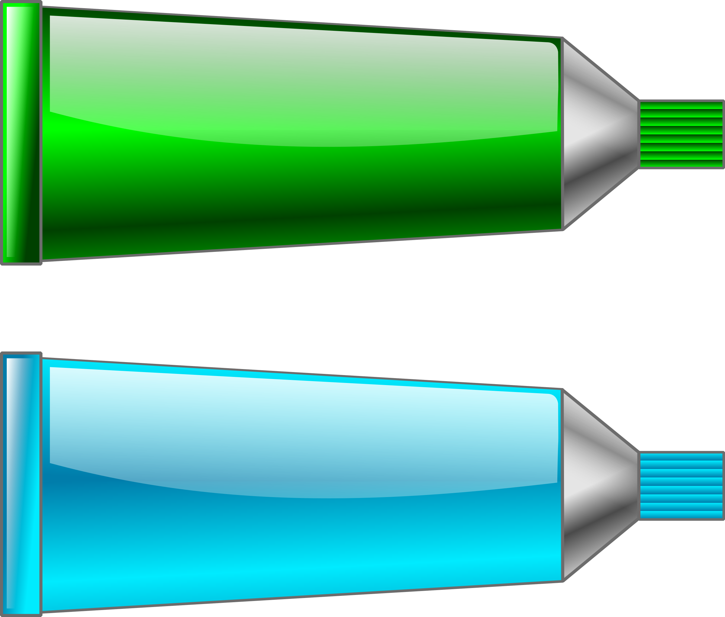 Color tube Green Cyan by TrnsltLife