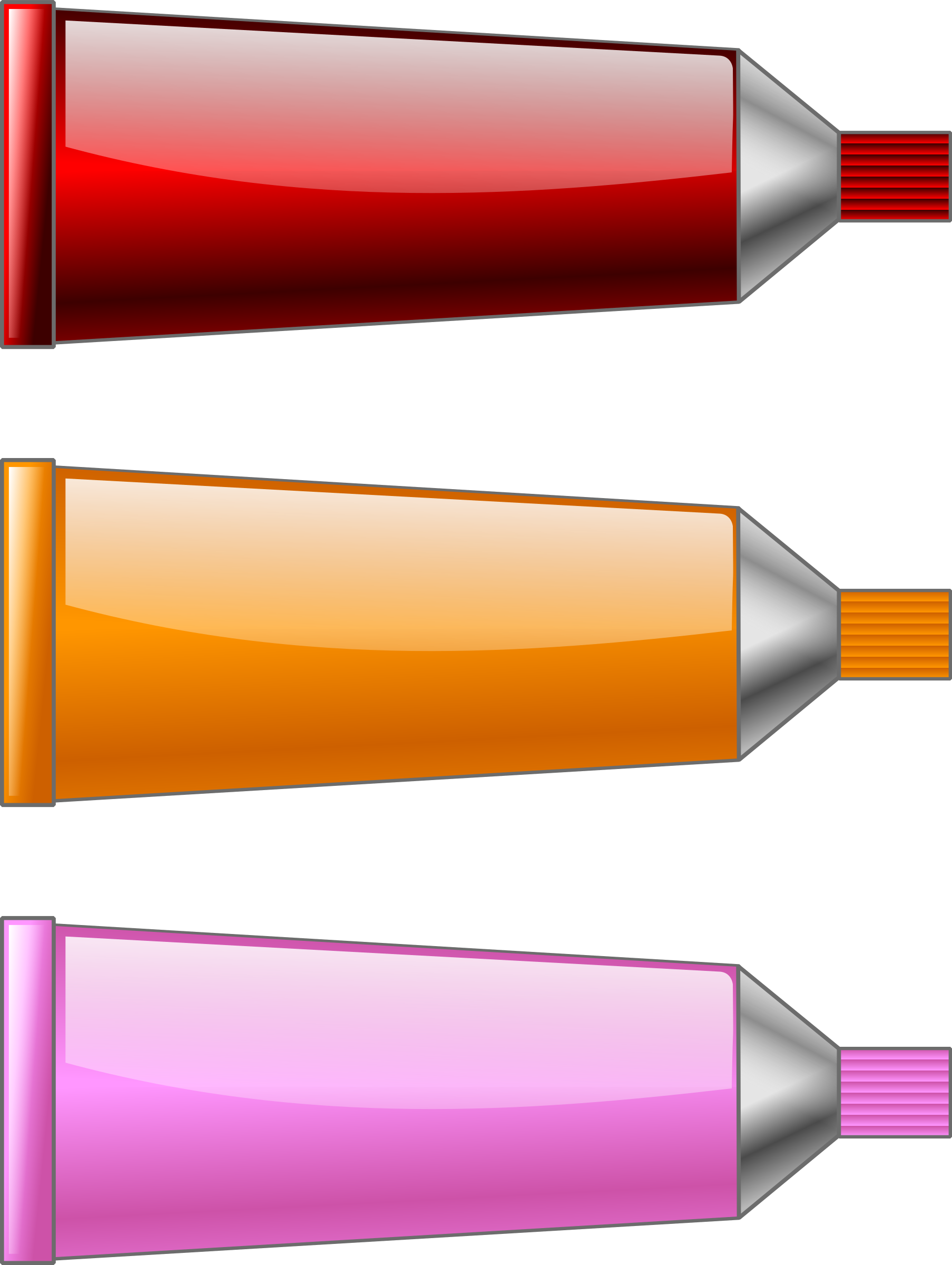 Color tube Red Orange Pink by TrnsltLife