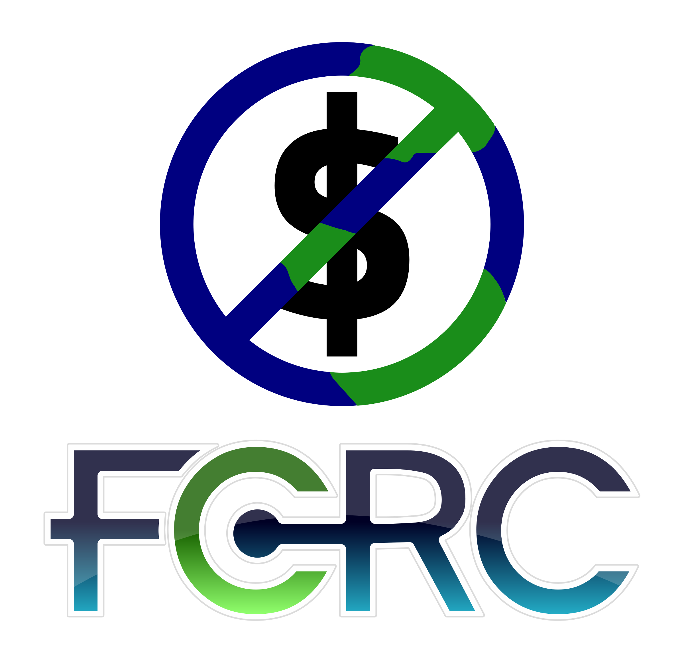 FCRC logo globe/money by timeth