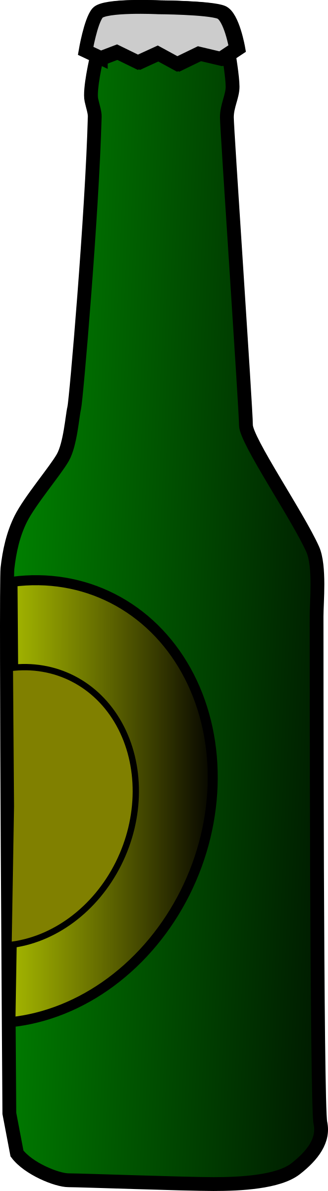 Beer Bottle by aungkarns