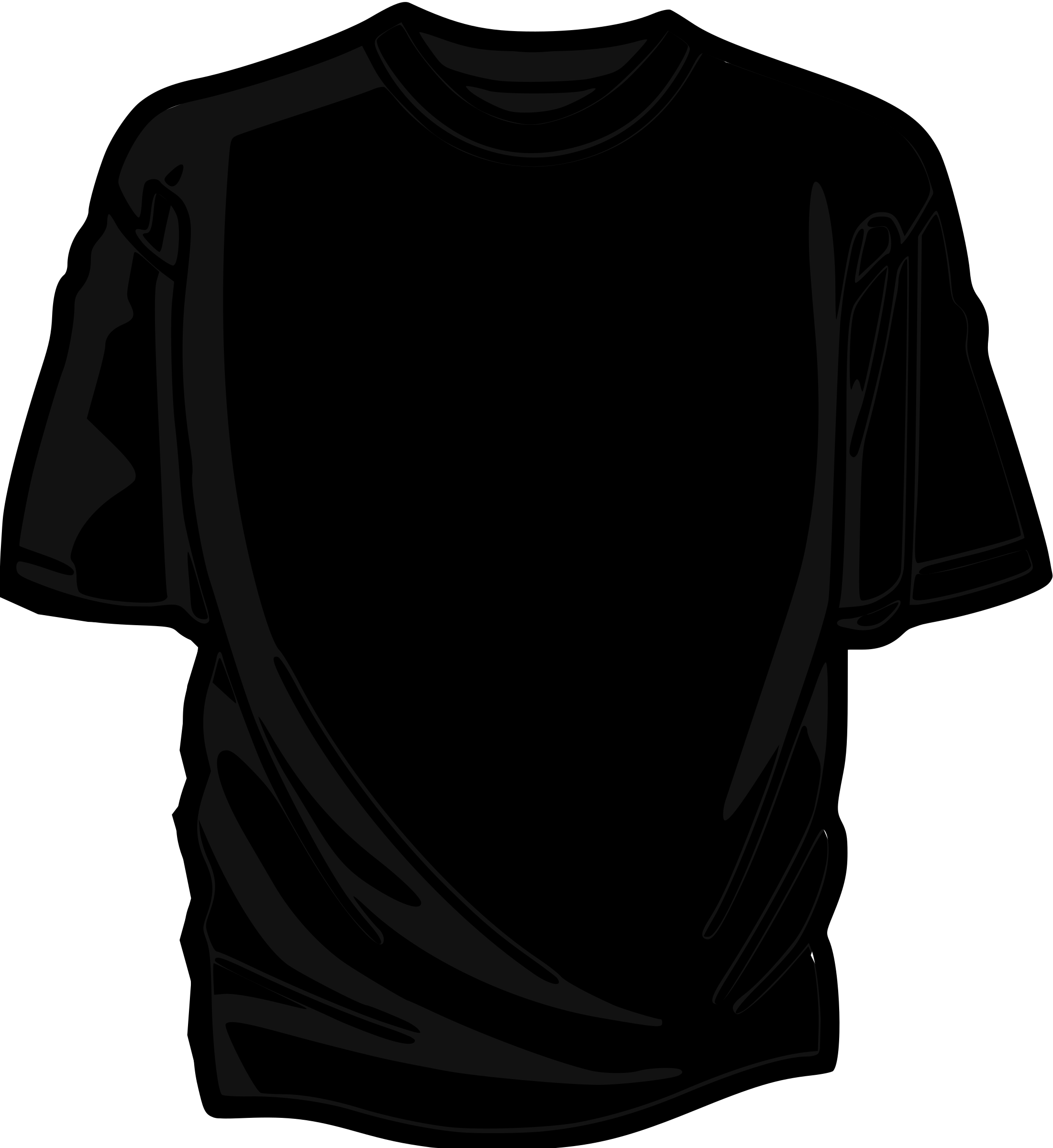 T-Shirt-black-02 by asrafil