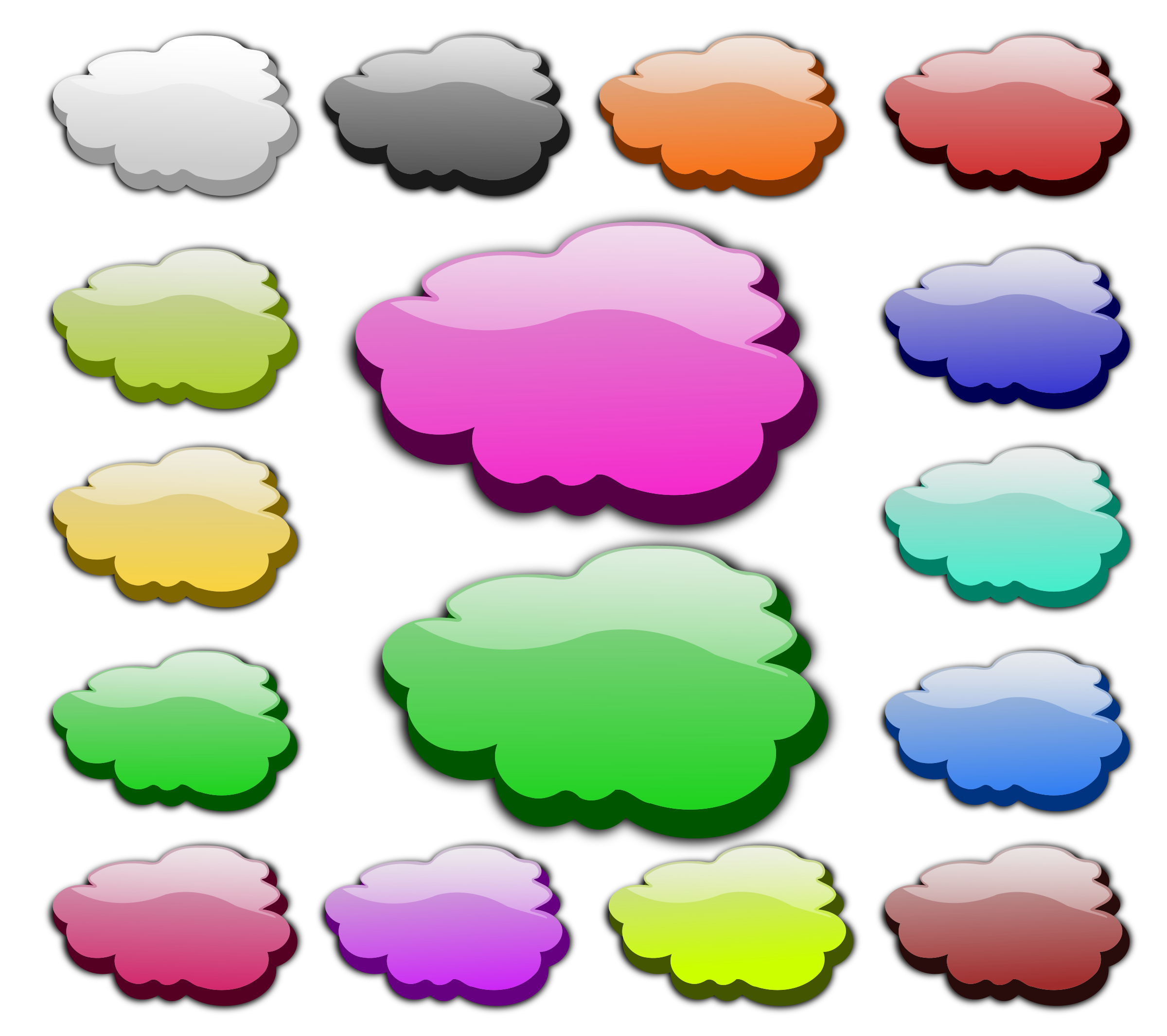 3D Clouds by inky2010