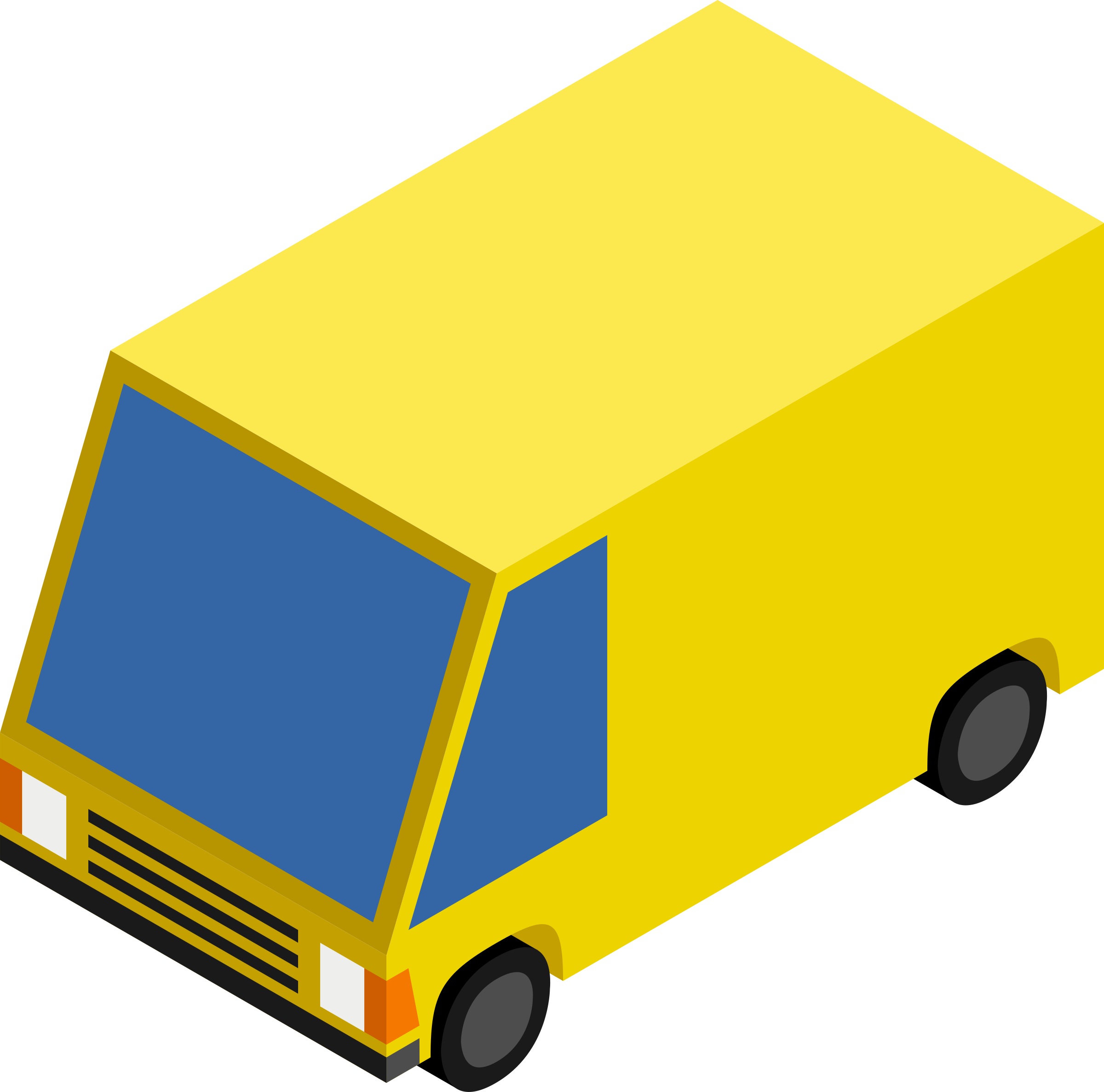 CM Isometric Yellow Van by depizol