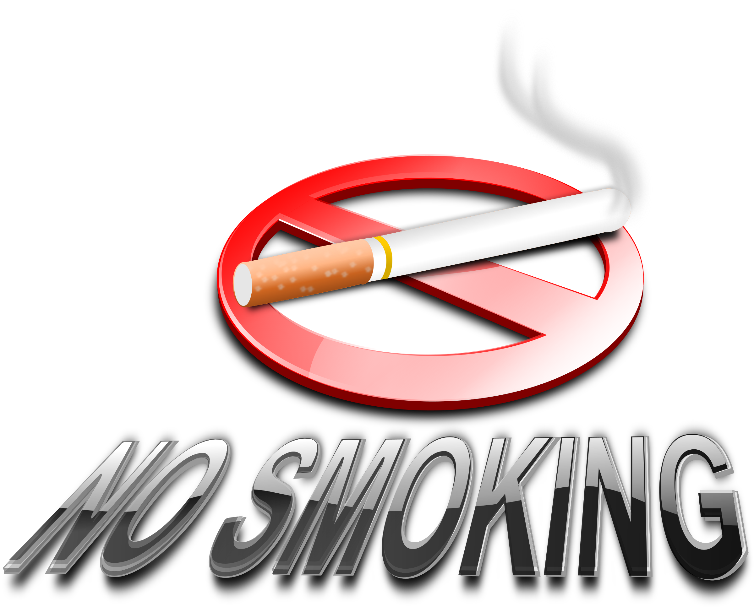 No Smoking (3D) by inky2010