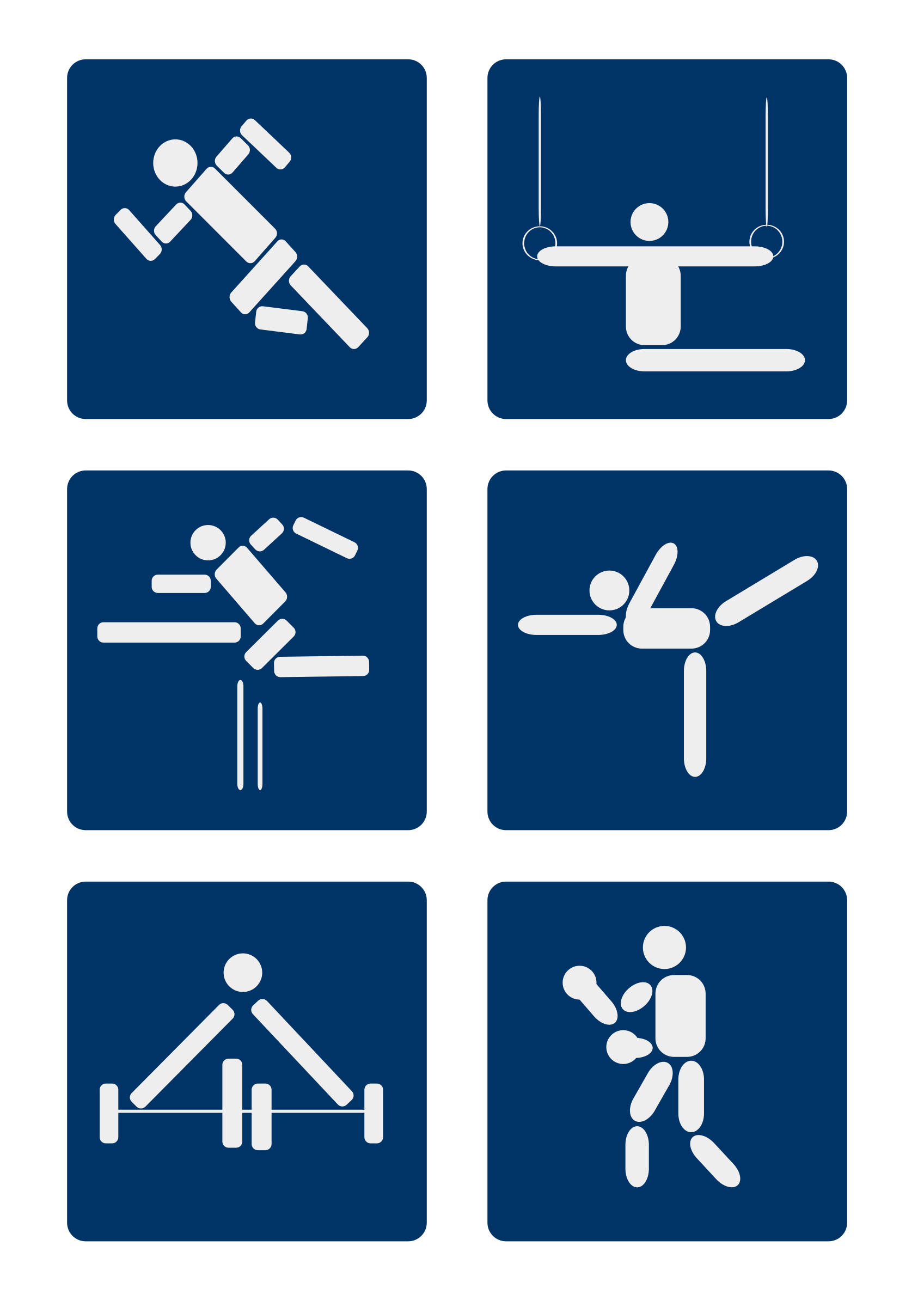 Sport Pictograms by shokunin