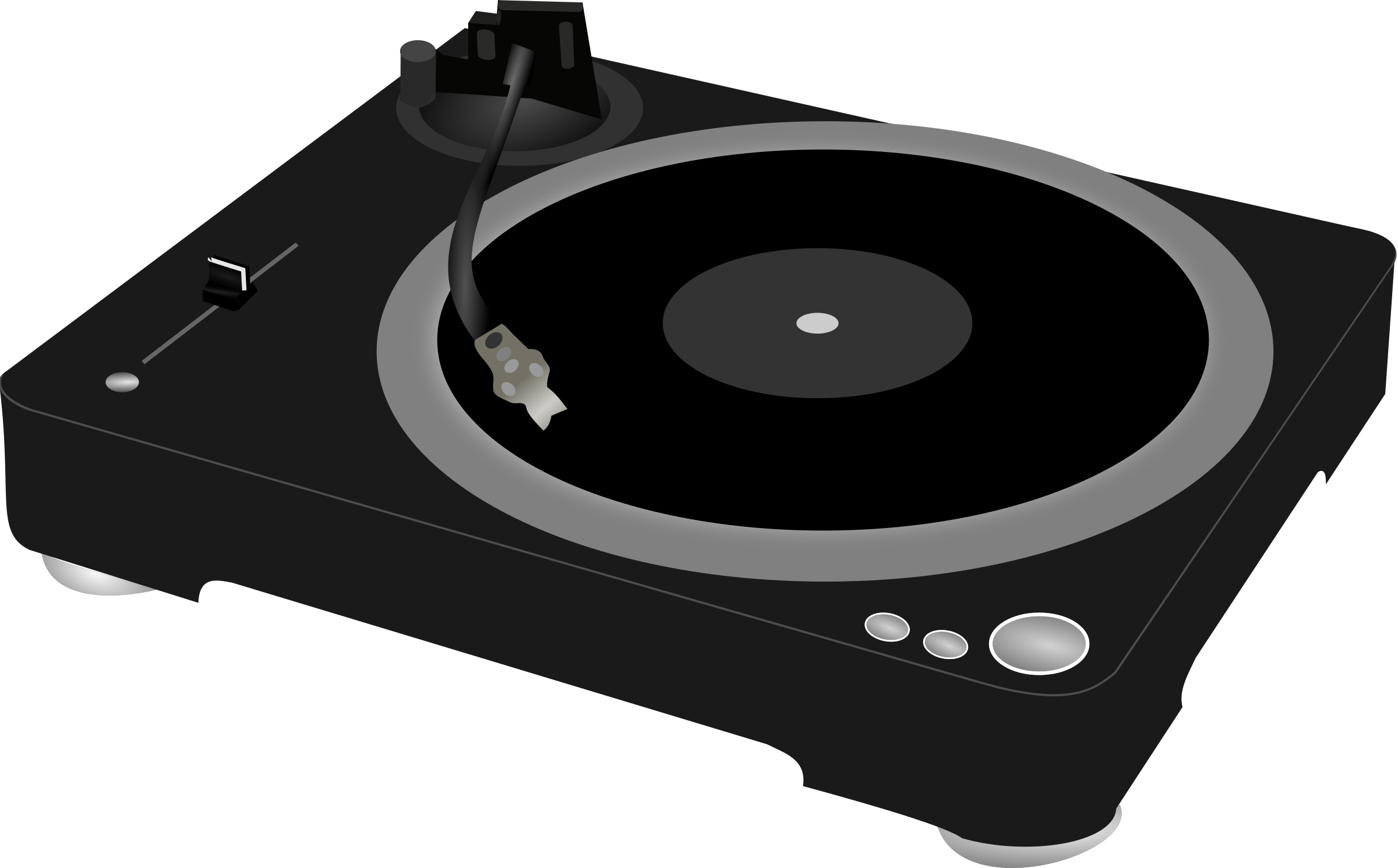 DJ turntable by wakro