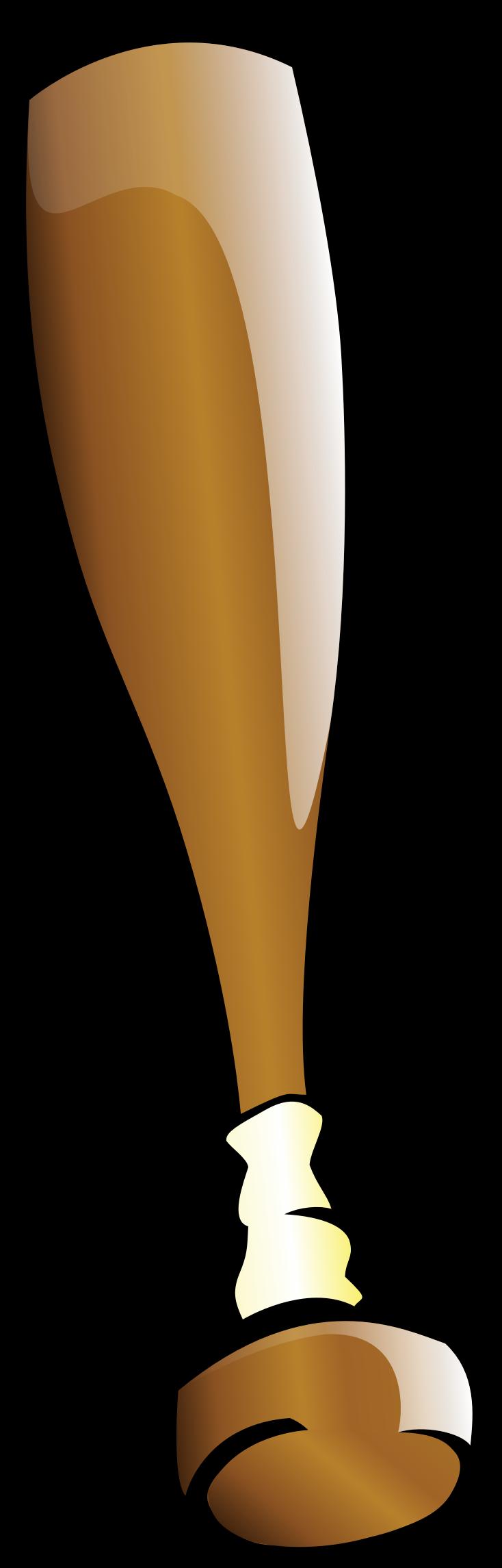 clipart baseball bat