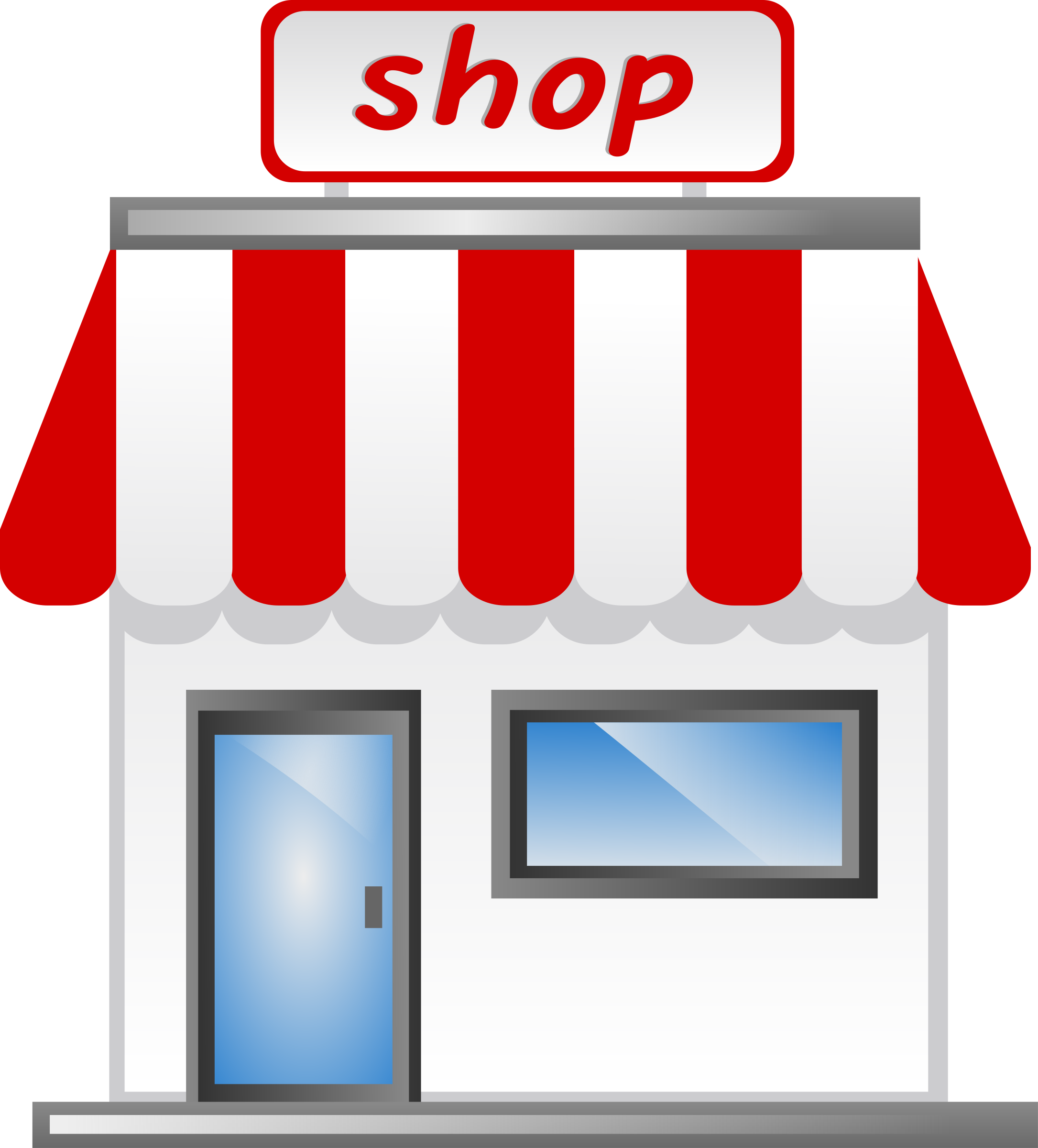 Shop front Icon by shokunin