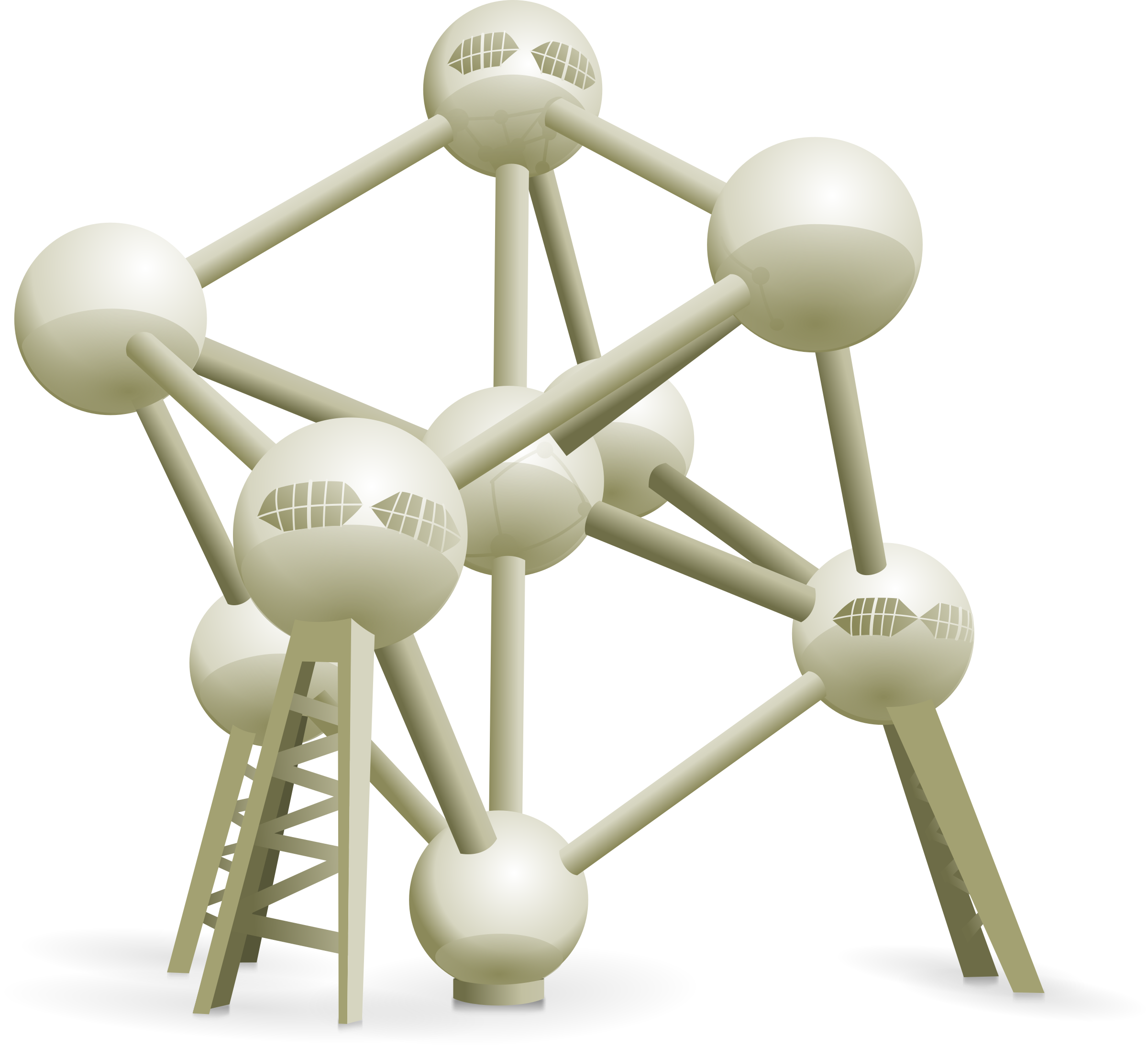 Clipart Atomium