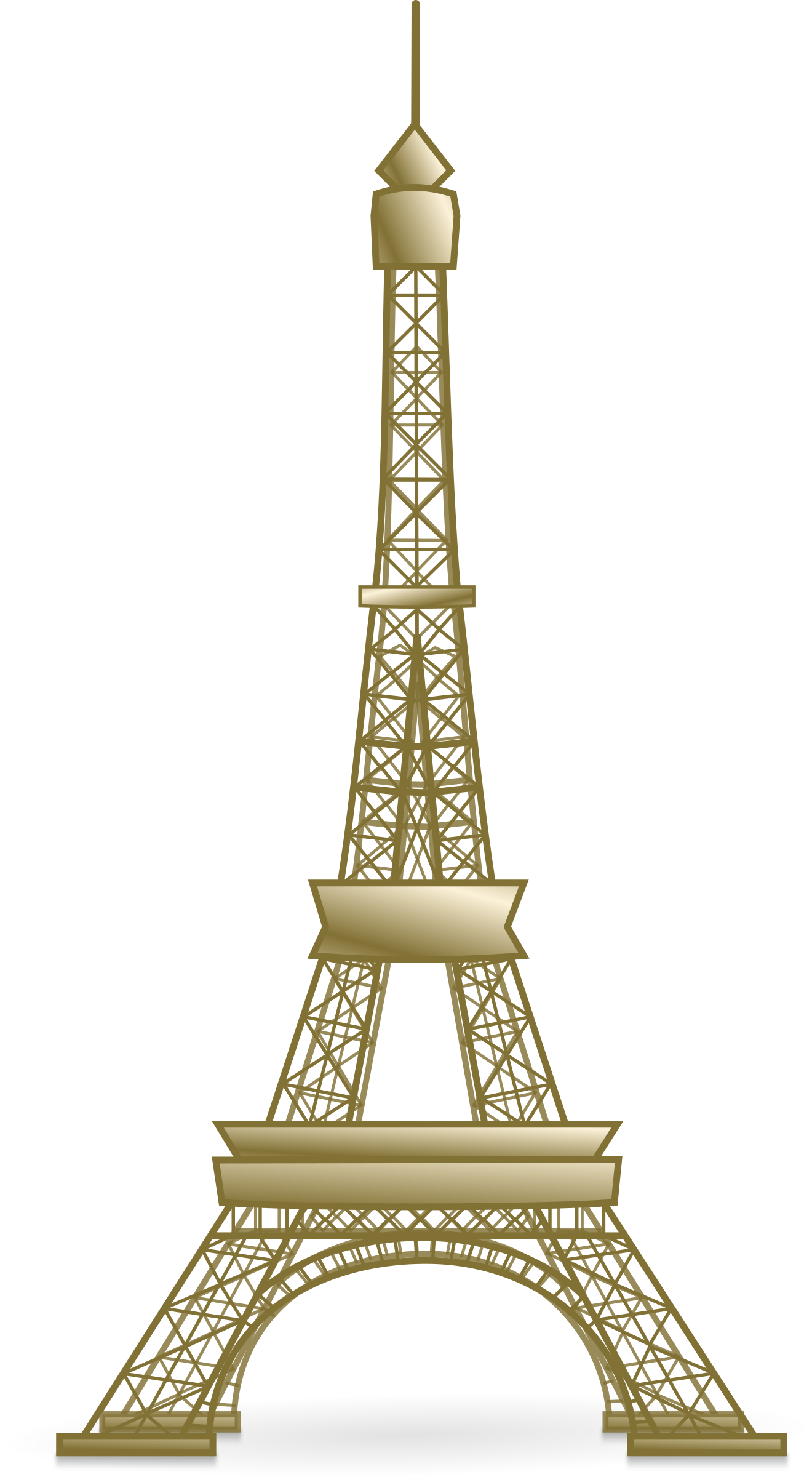 clipart eiffel tower. Black Bedroom Furniture Sets. Home Design Ideas