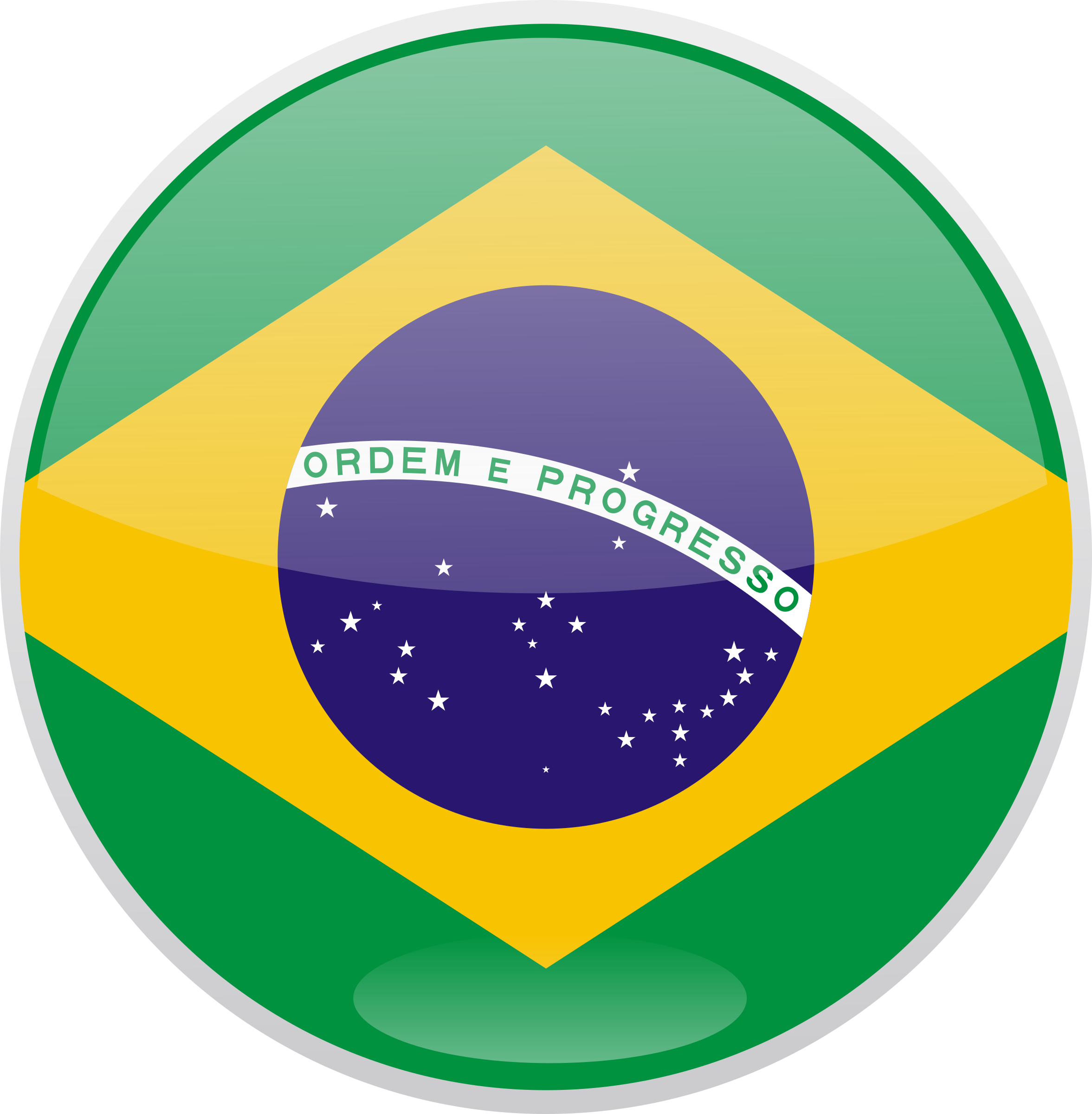 Flag of Brazil by shokunin