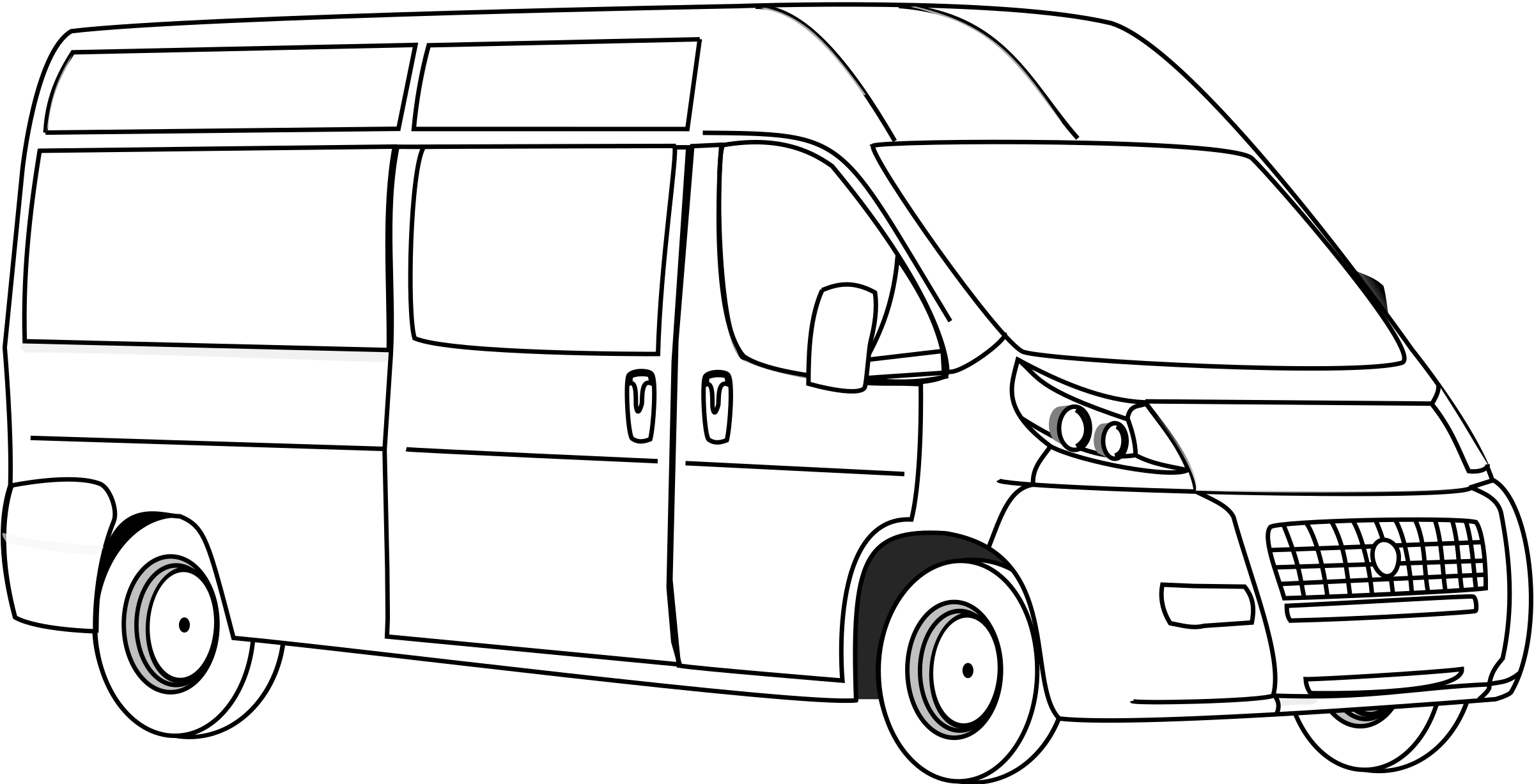 Van Line Art by gammillian