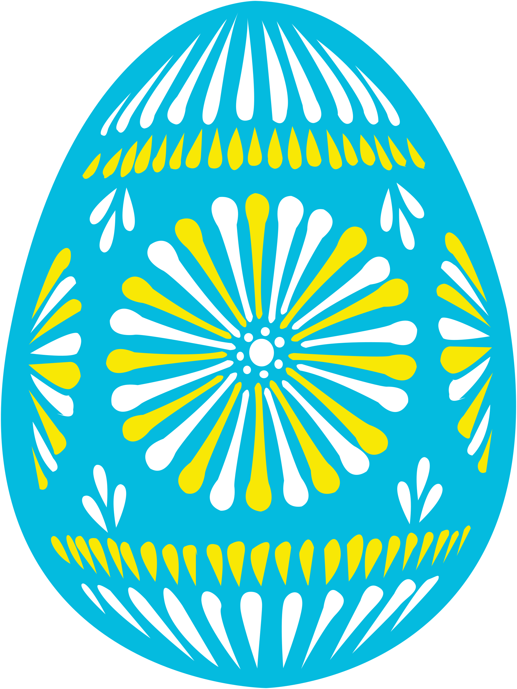 easter egg blue by shokunin