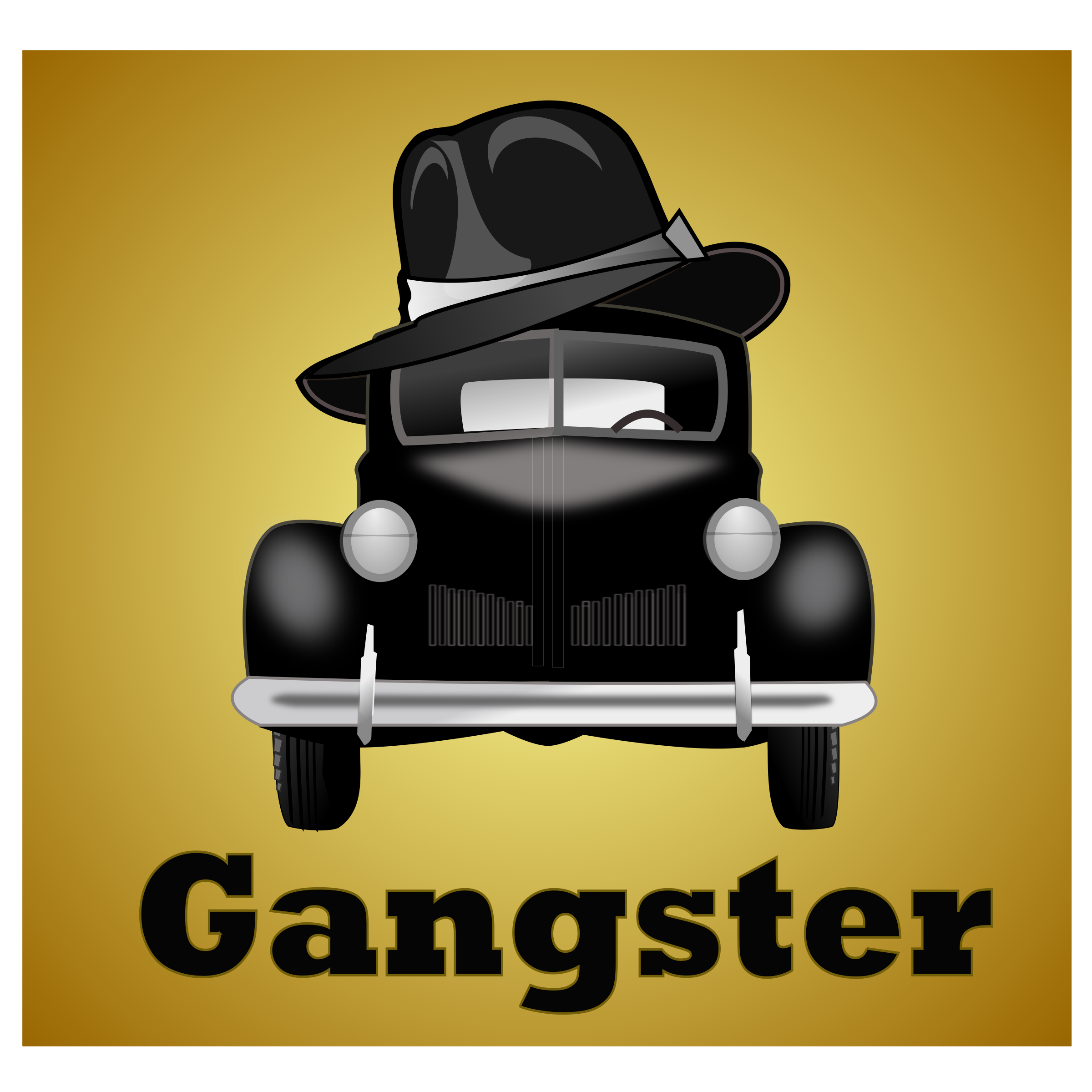 gangster-illustration by netalloy