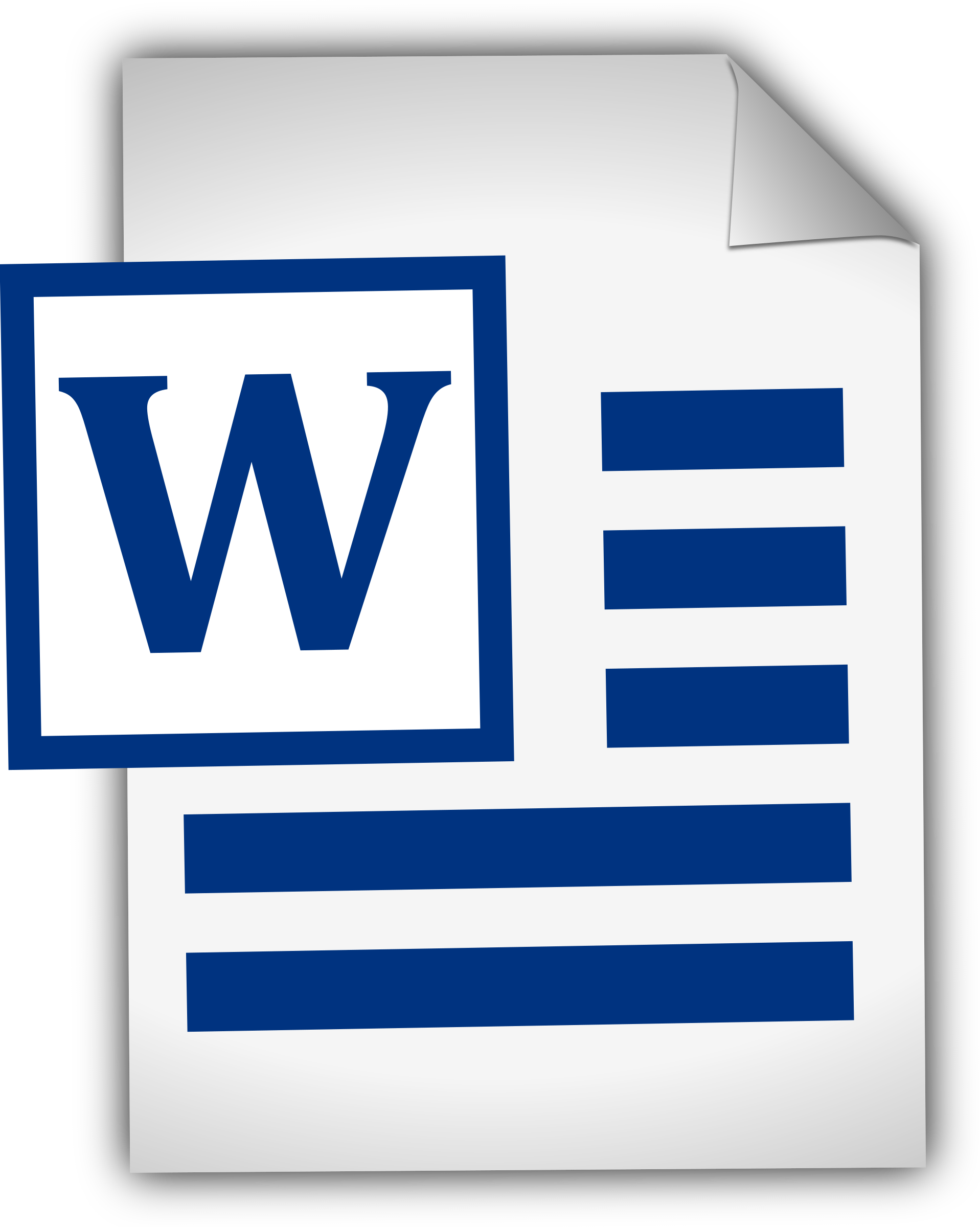Image result for word attachment icon