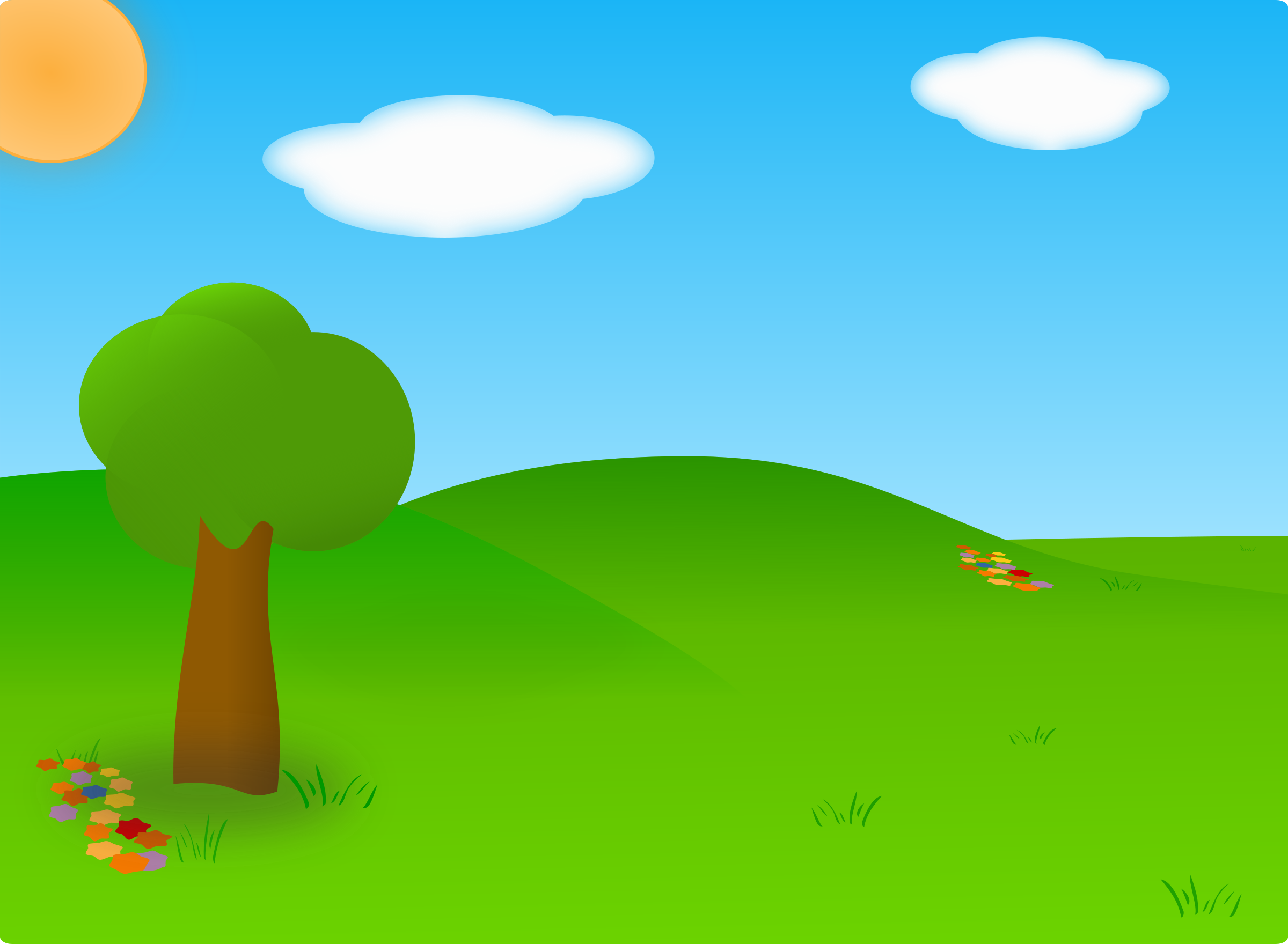 Cartoon Landscape by carlitos