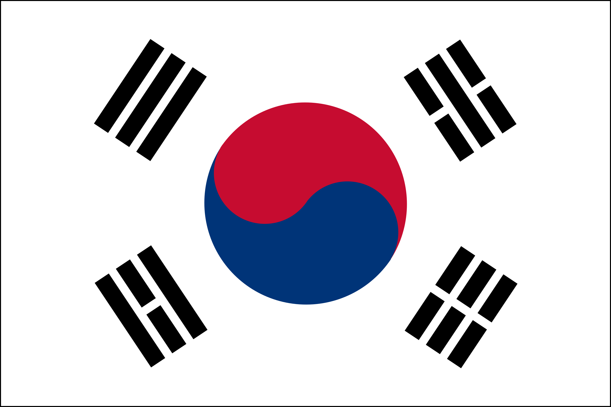 South Korean Flag by jp_draws