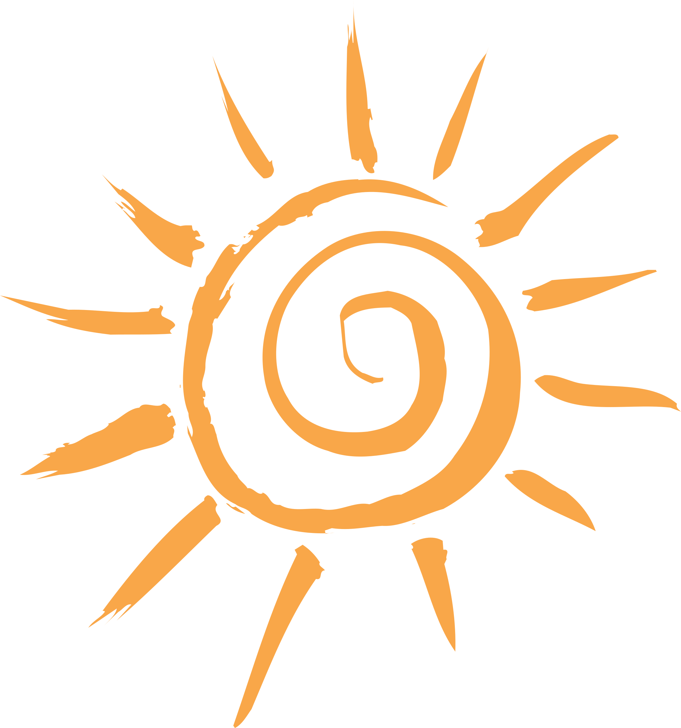 simple sun motif by ryanlerch