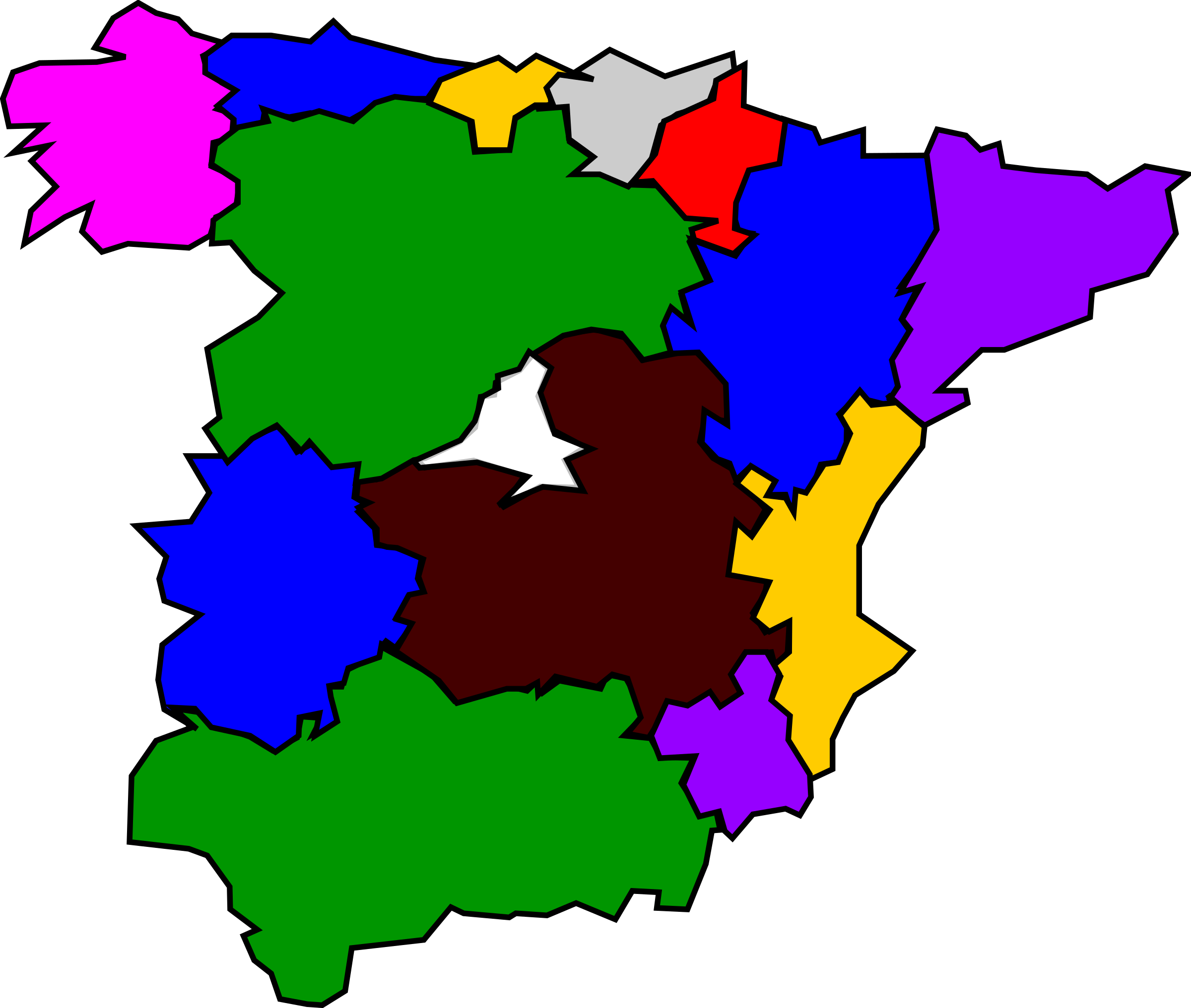 spanish regions 01 by Anonymous