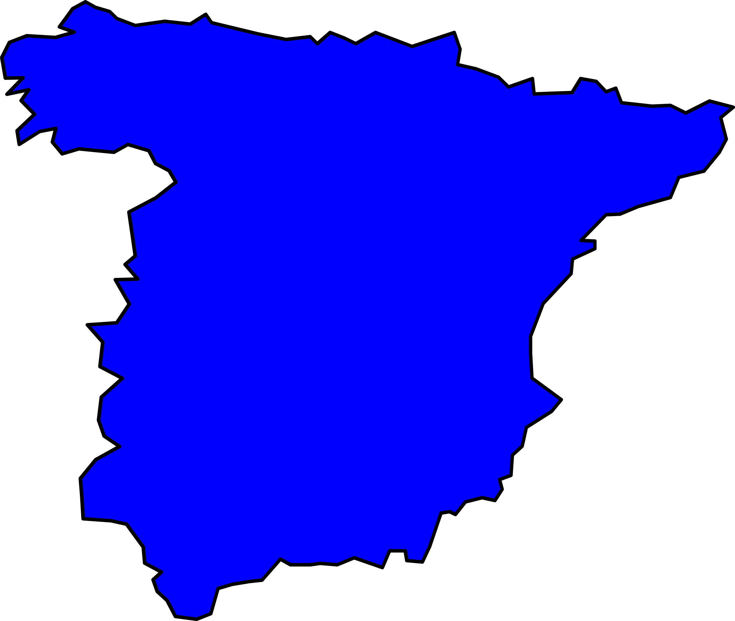 spain peninsule 01 by Anonymous