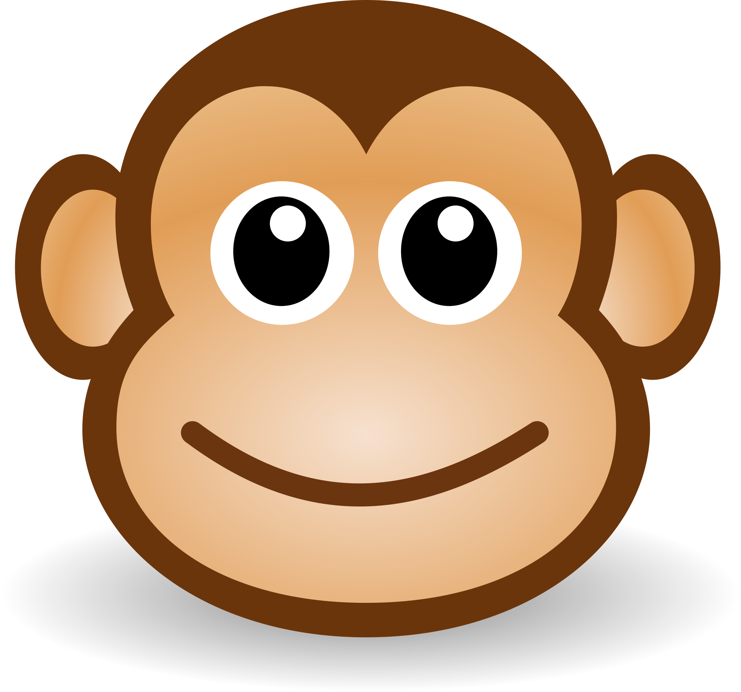 Displaying 18> Images For - Cartoon Baby Monkey Face...