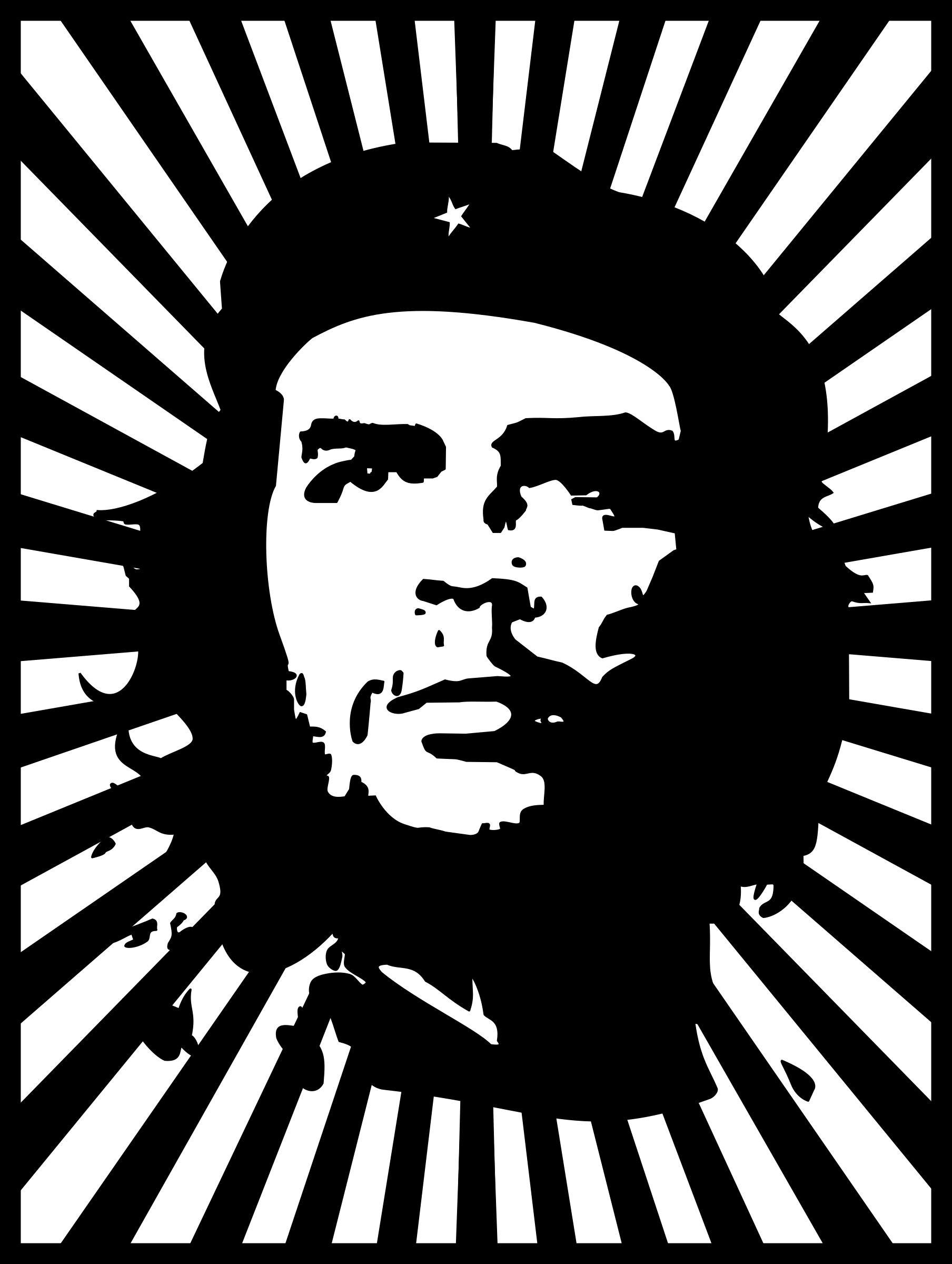 Che with background by tin_nqn