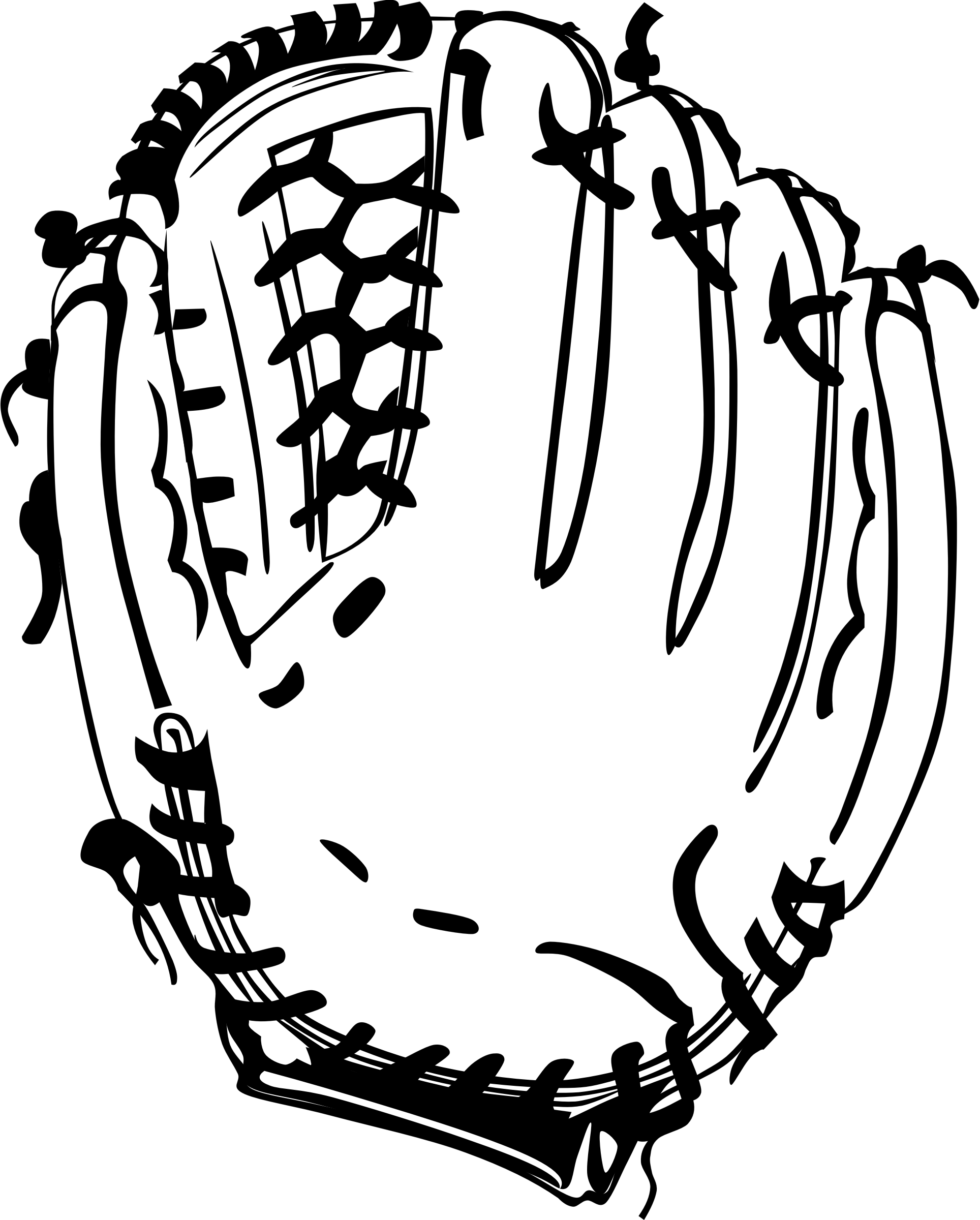 clipart baseball glove rh openclipart org baseball glove clipart free cartoon baseball glove clipart