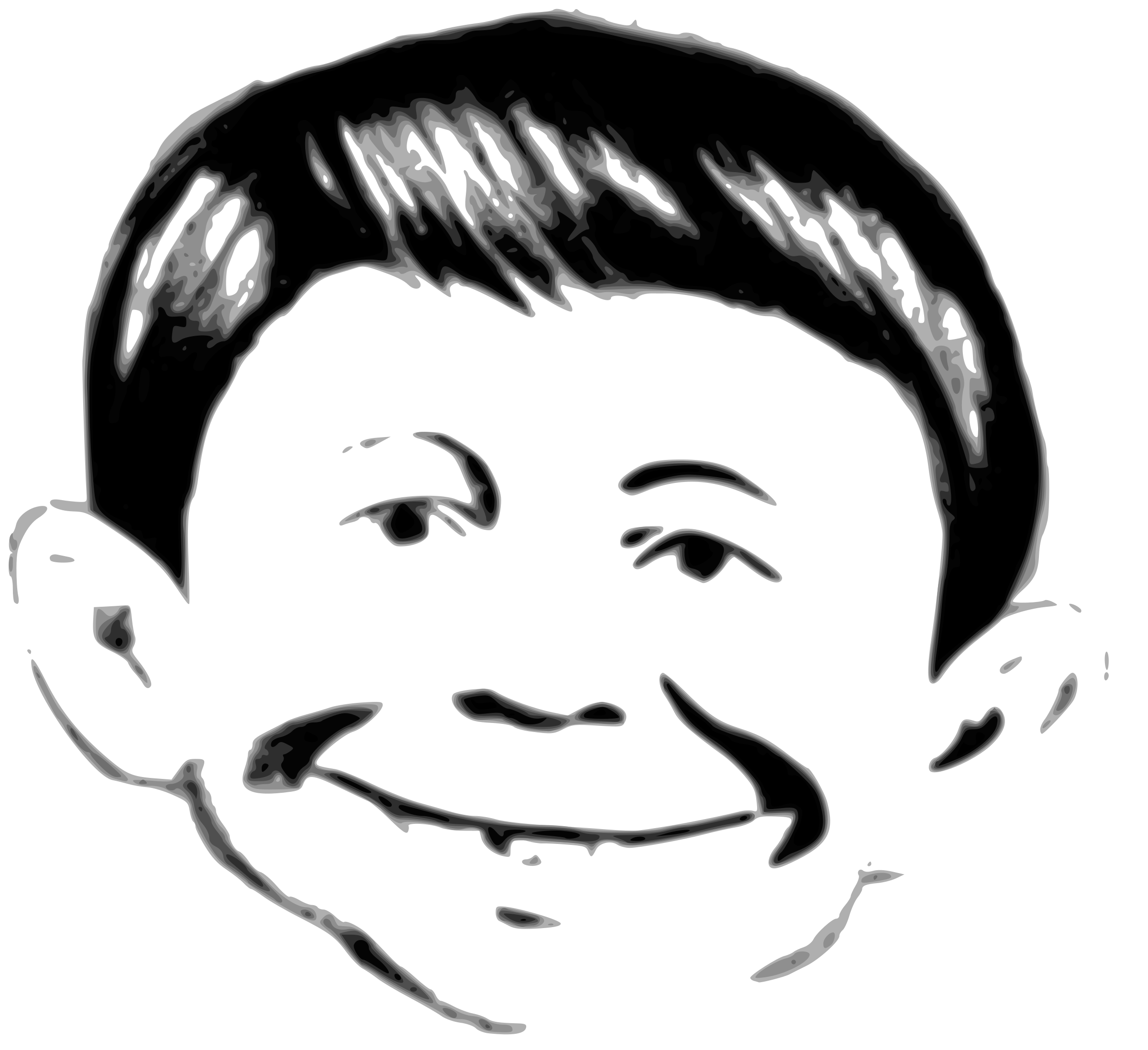 Alfred E. Neuman (well, not quite) by liftarn