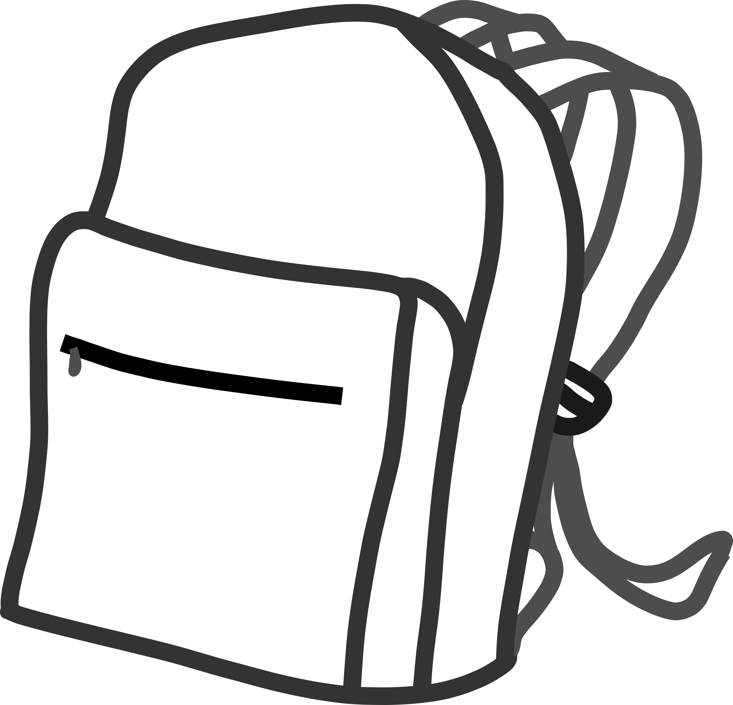 School bag by Kib